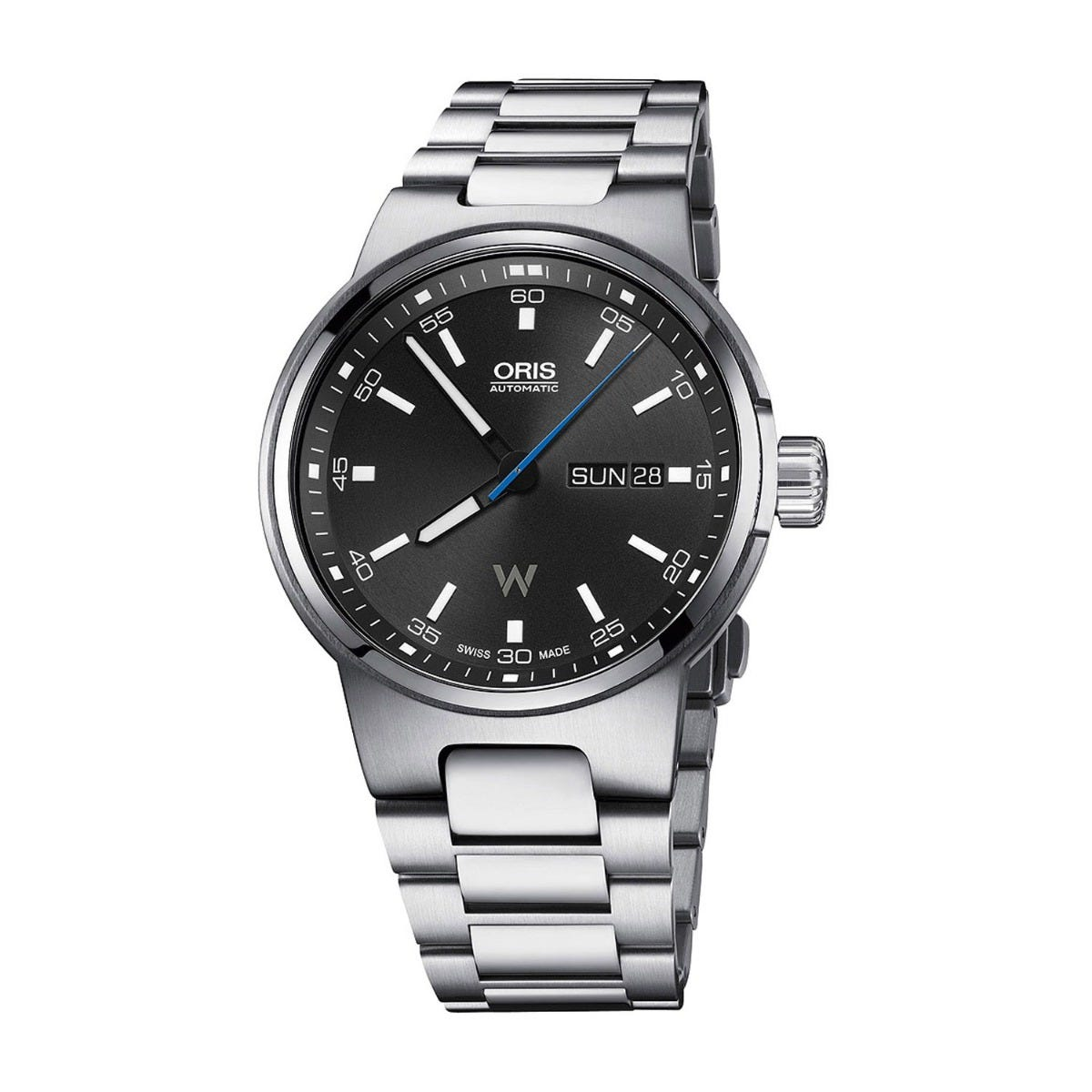 Oris Williams Day Date Black Dial Automatic Mens Watch