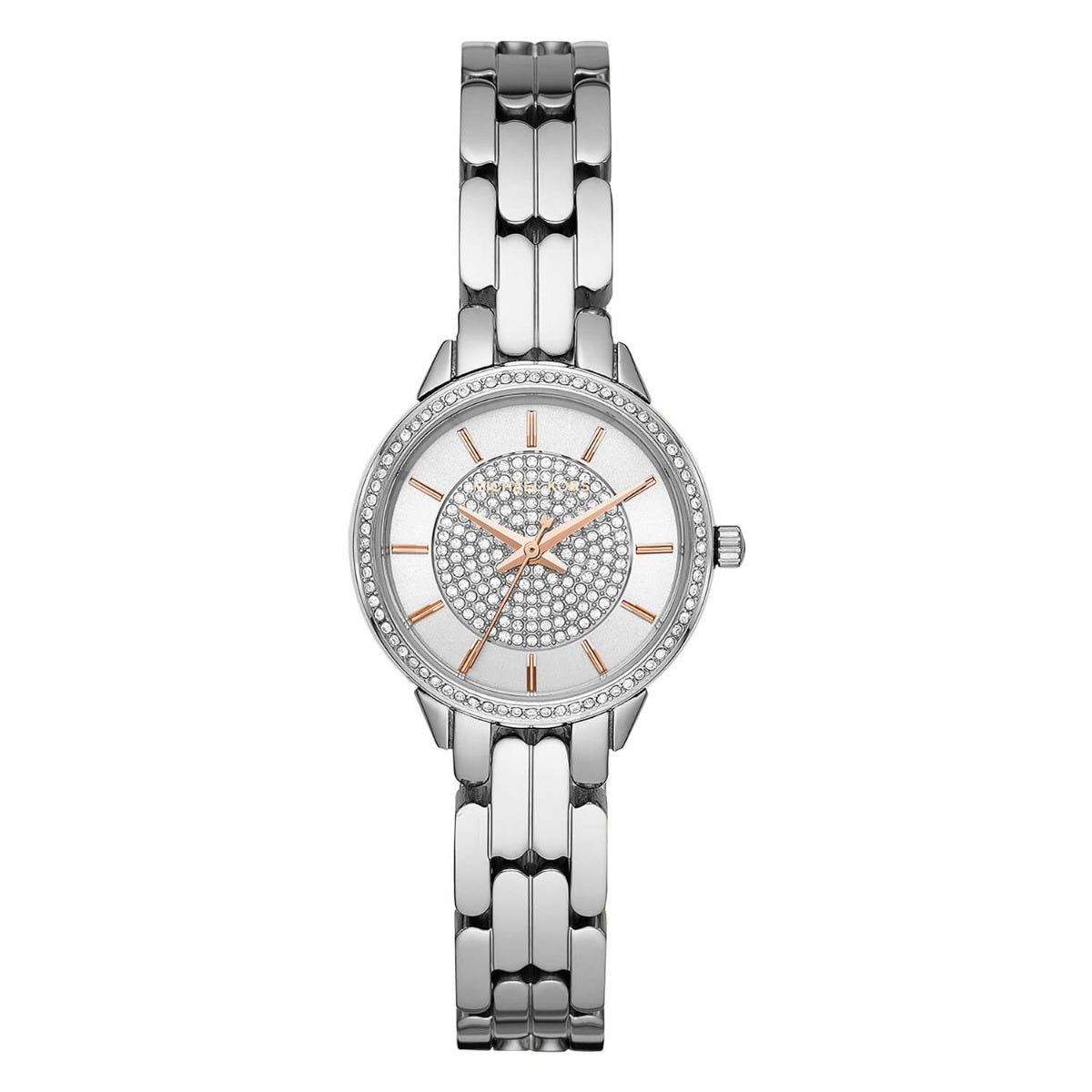 Michael Kors Mini Allie Stainless Steel Quartz Ladies Watch