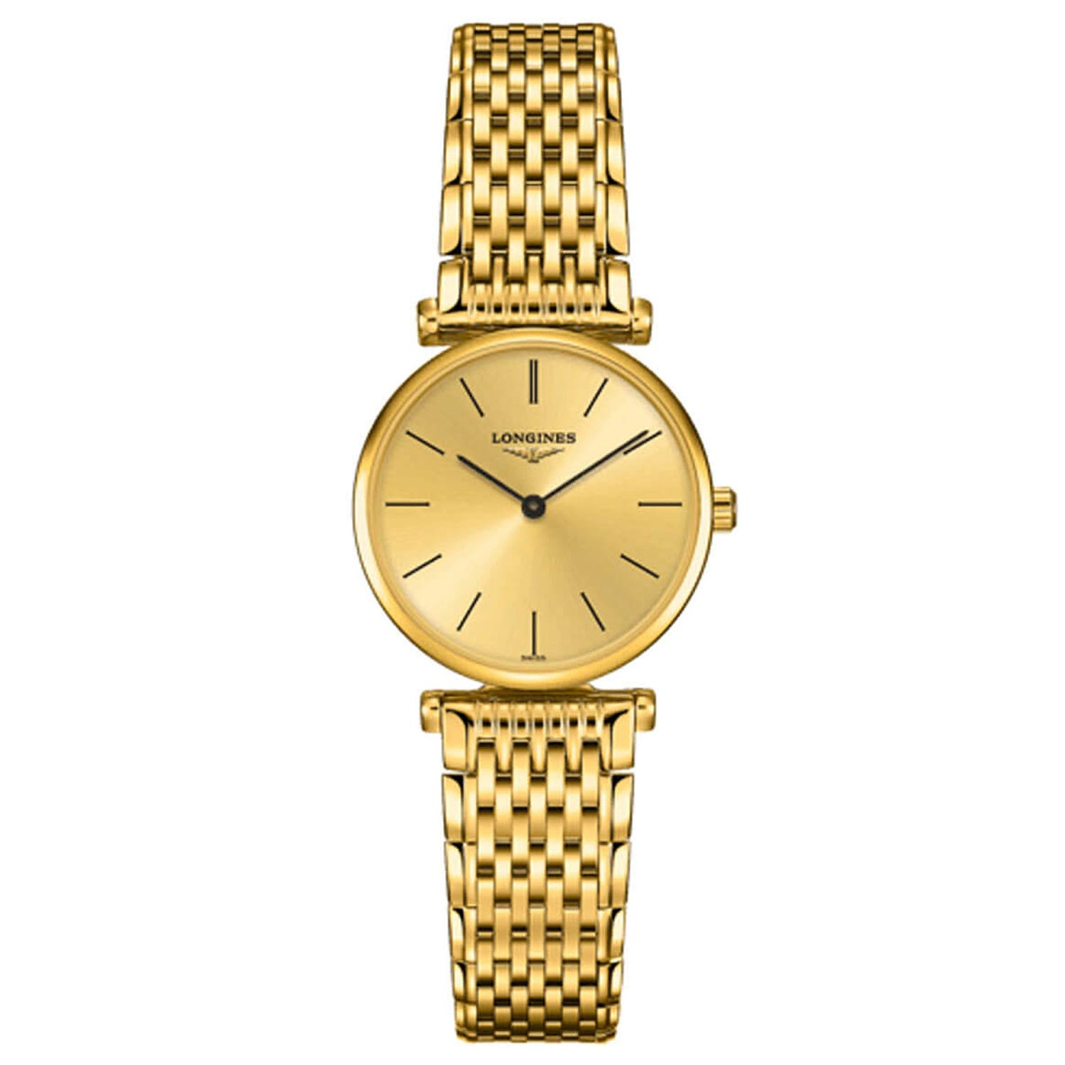 Longines La Grande Classique ladies' gold-tone bracelet watch