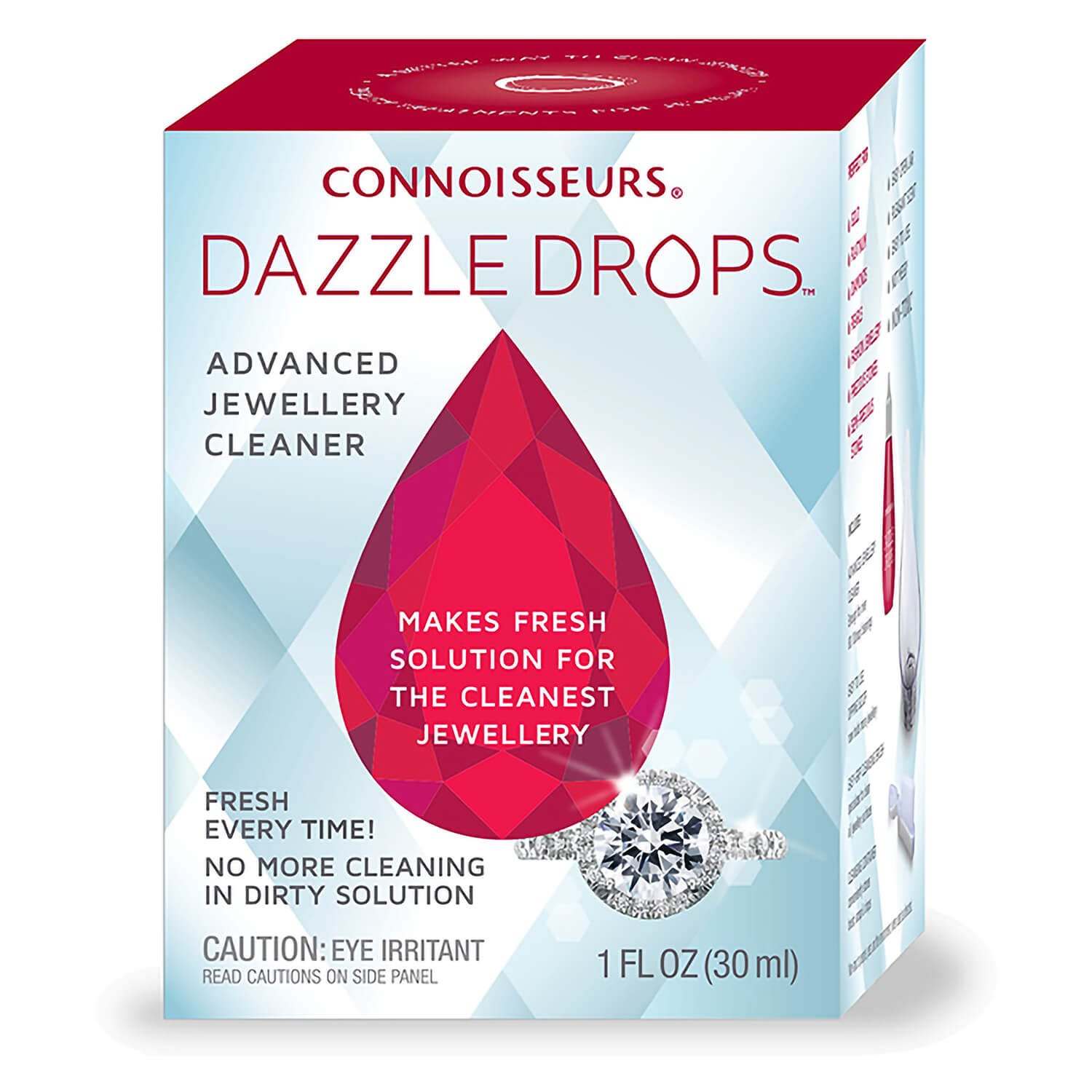 Connoisseurs Dazzle Drops Advanced Jewellery Cleaner
