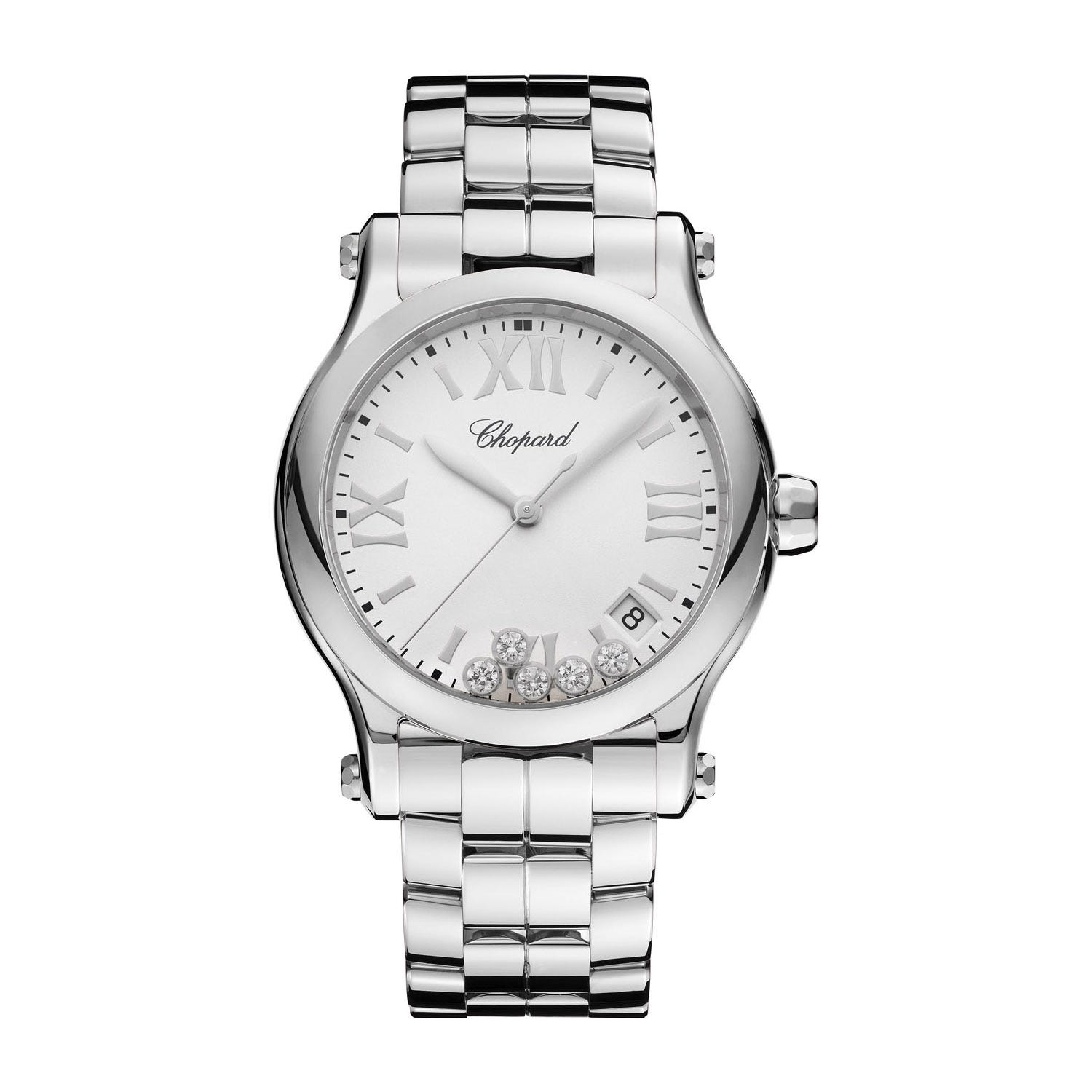Chopard Happy Sport Ladies Stainless Steel Quartz Watch