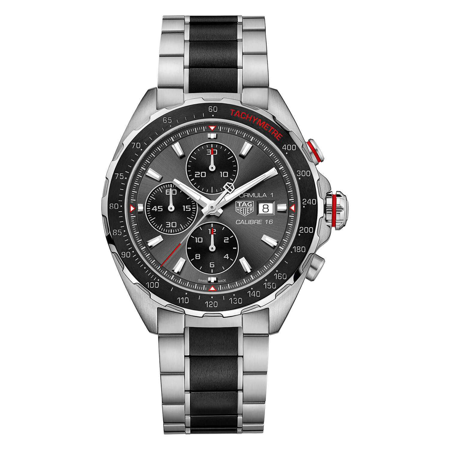 TAG Heuer Formula 1 Mens Steel And Black Ceramic Watch