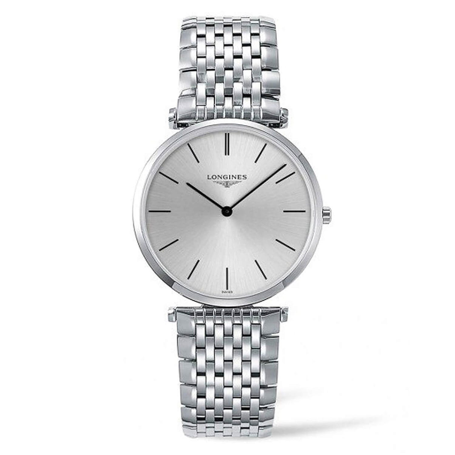Longines La Grande Classique Men's Stainless Steel Bracelet Strap Watch