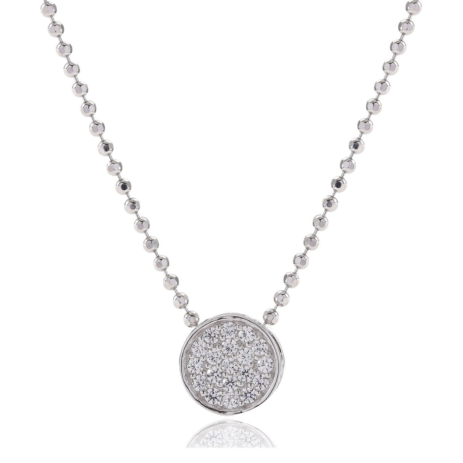 Sif Jakobs Portici Rose Gold Plated Cubic Zirconia Pendant