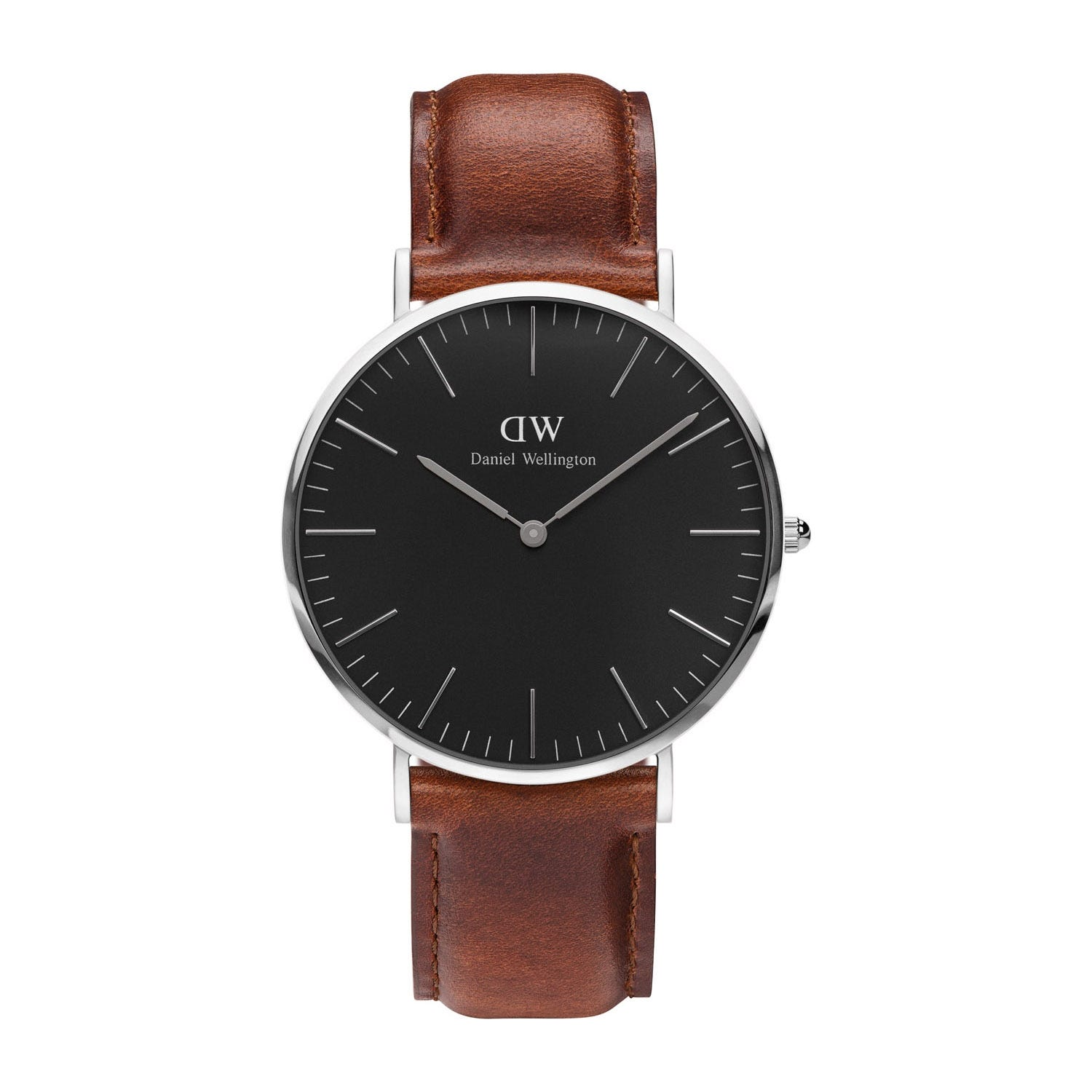 Daniel Wellington Classic Black St. Mawes Stainless Steel 40mm Watch
