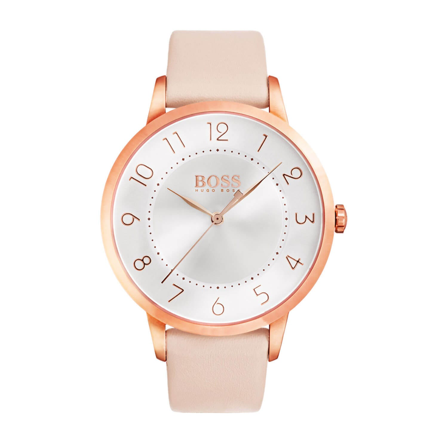 Hugo Boss Eclipse Rose Gold Toned Ladies Watch