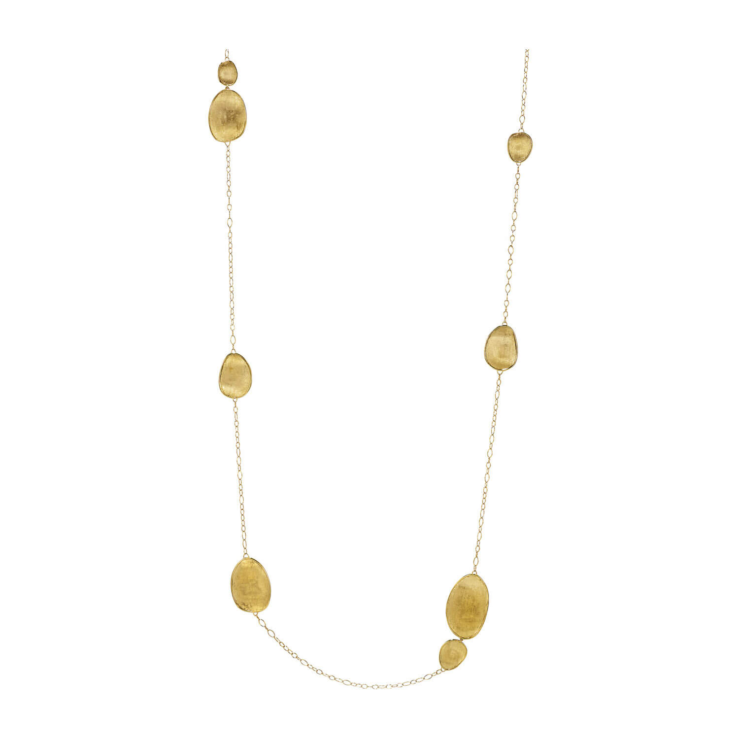 Marco Bicego Lunaria 18ct Yellow Gold Large Chain Necklace