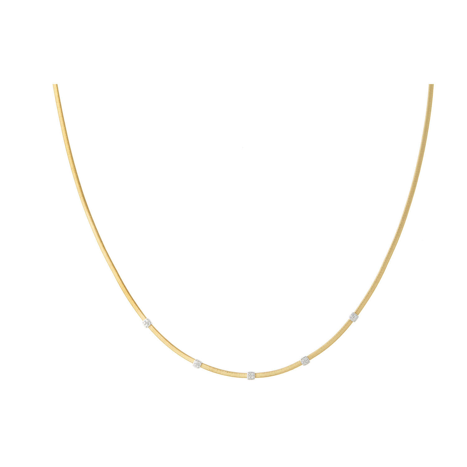 Marco Bicego Masai 18ct Yellow Gold and Diamond Necklace