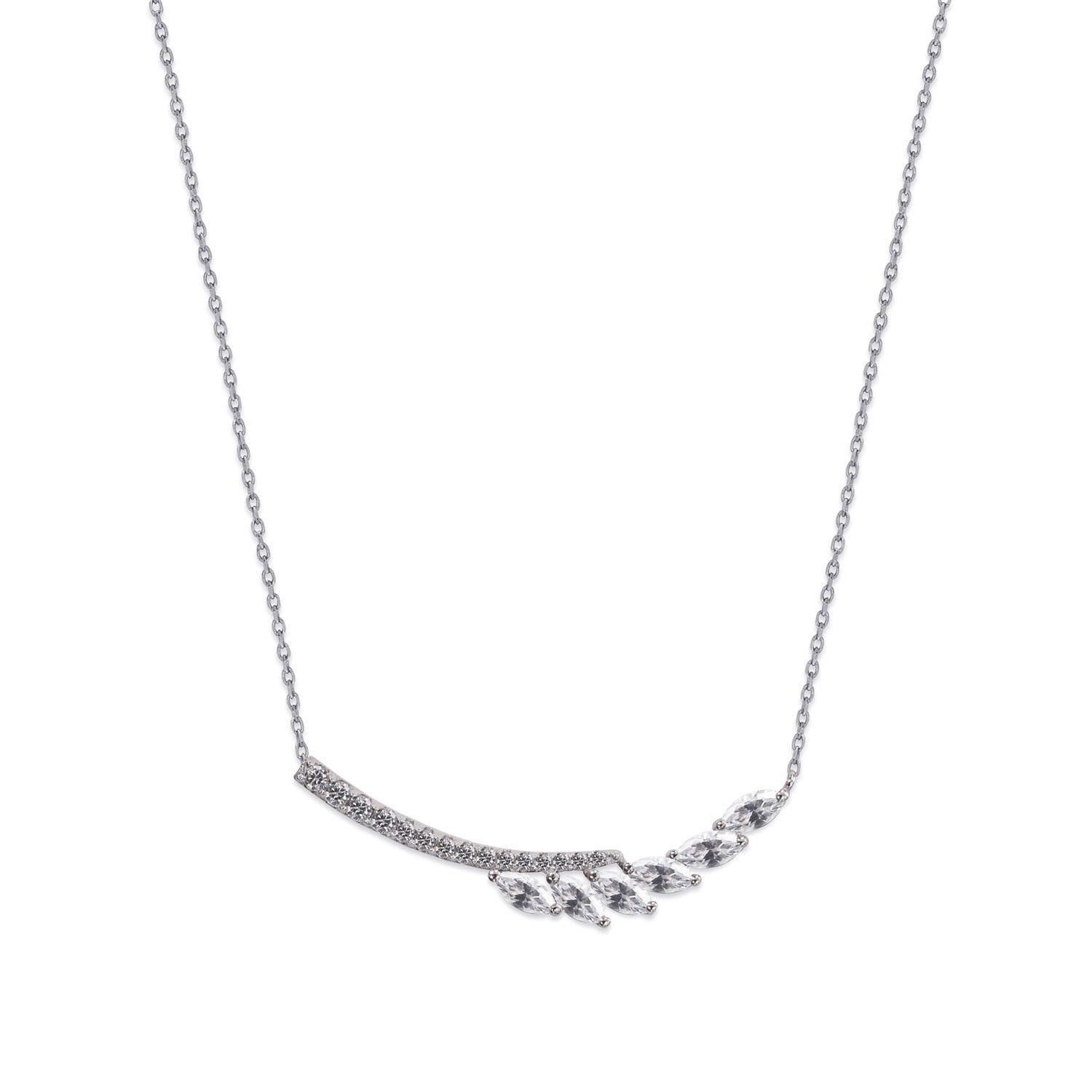 CARAT* London Cesar Collection Sterling Silver Laeta Necklace