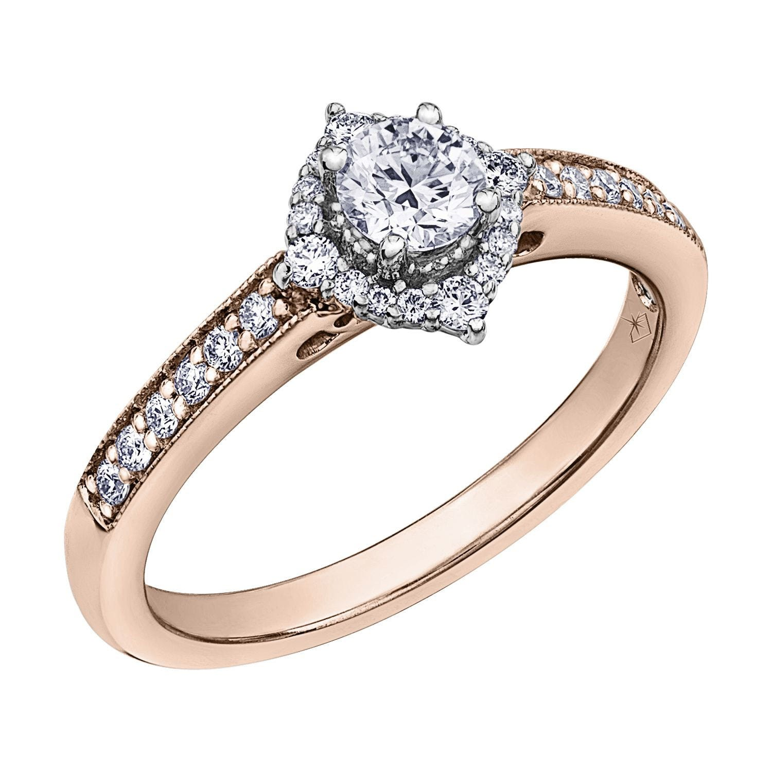 Northern Star Special Order Signature 0.50ct Diamond 18ct Rose Gold Ring