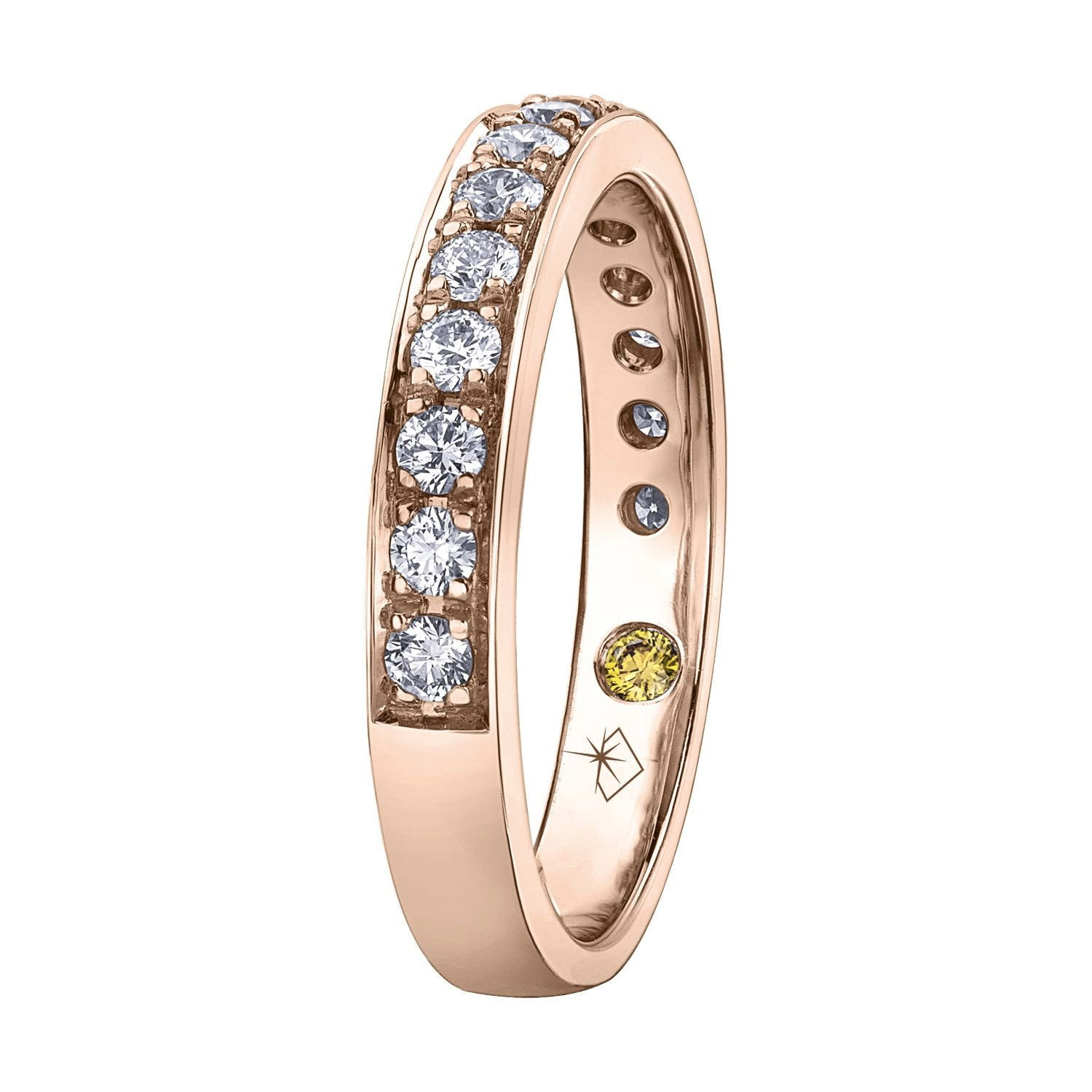 Northern Star Special Order 0.50ct Diamond 18ct Rose Gold Anniversary Ring
