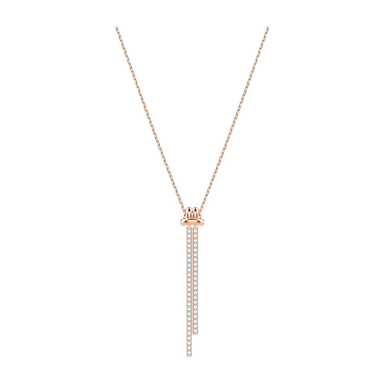 Swarovski Liftlong Y Pendant Rose Gold-Plated Necklace