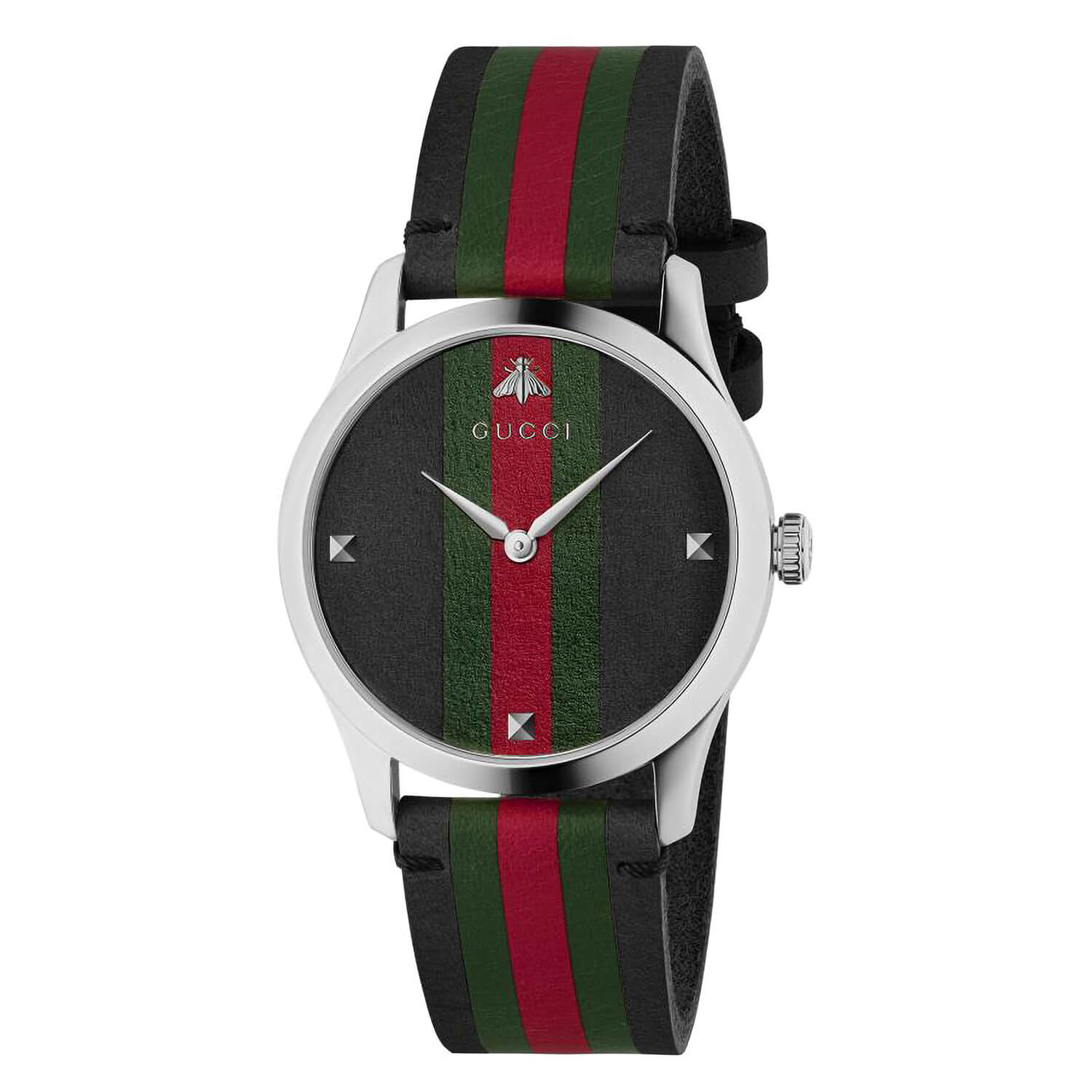 Gucci G-Timeless 38mm Black Dial Ladies Watch
