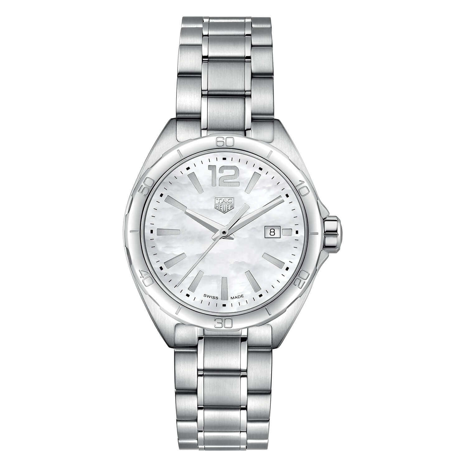 TAG Heuer F1 Pearl Dial Steel 32mm Ladies' Watch