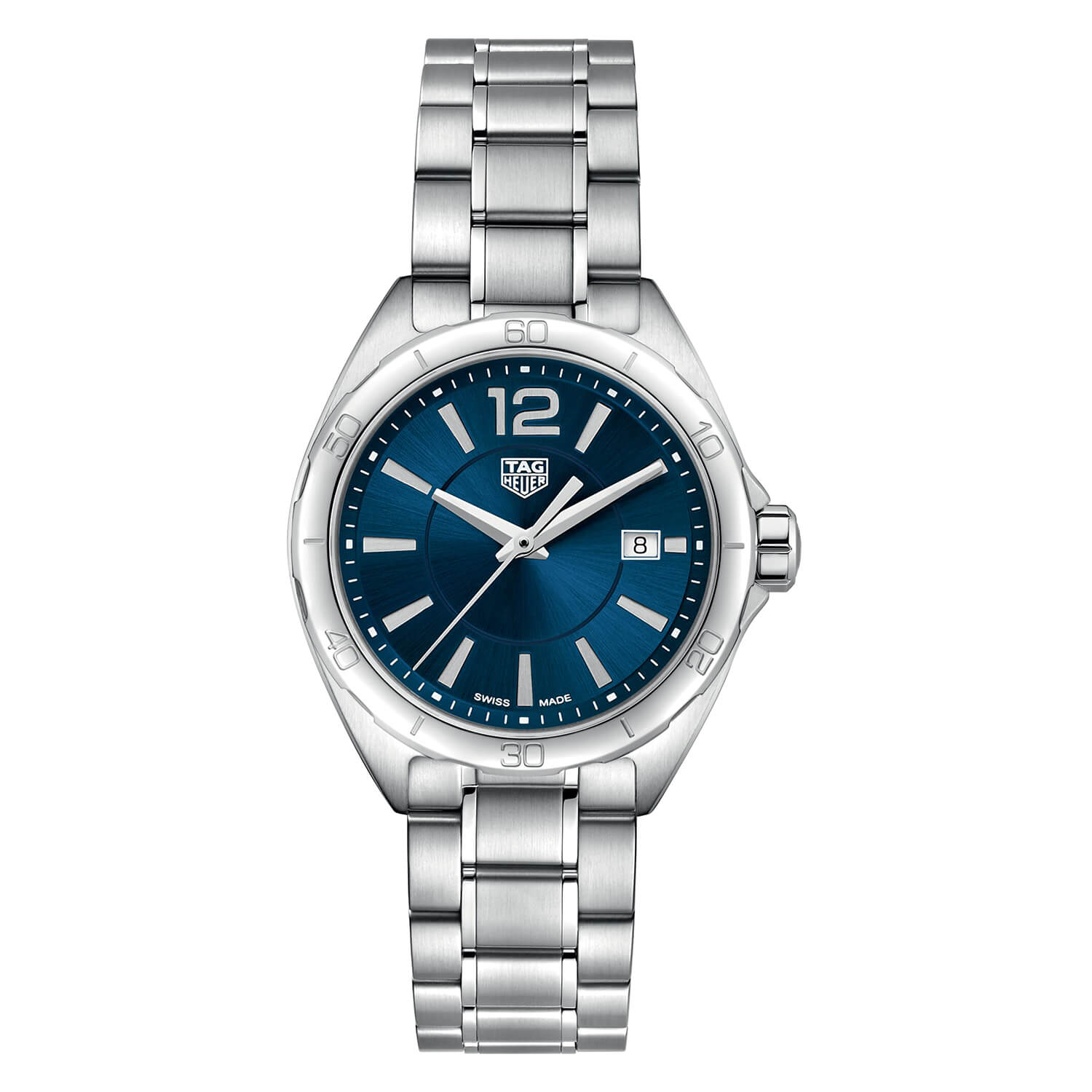 TAG Heuer F1 Blue Dial Steel 32mm Ladies' Watch
