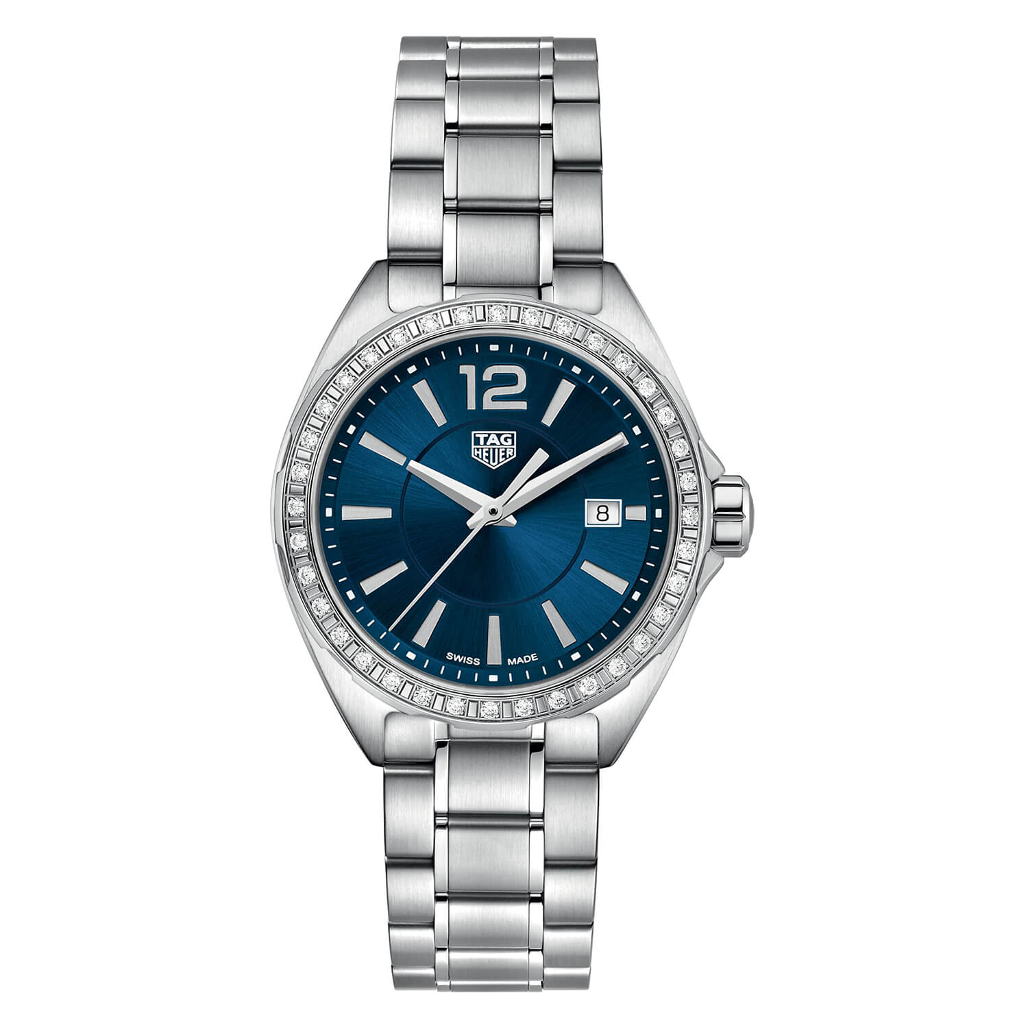 TAG Heuer F1 Diamond Bezel & Steel 32mm Ladies' Watch