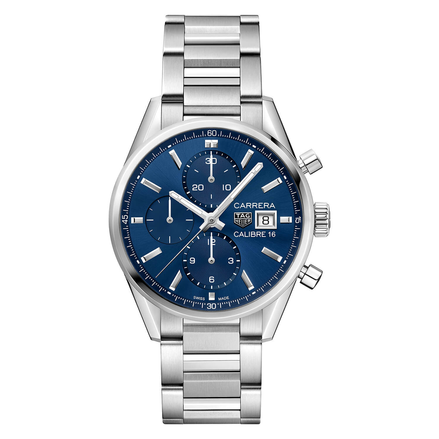 TAG Heuer Carrera Blue Chronograph 41mm Men's Watch