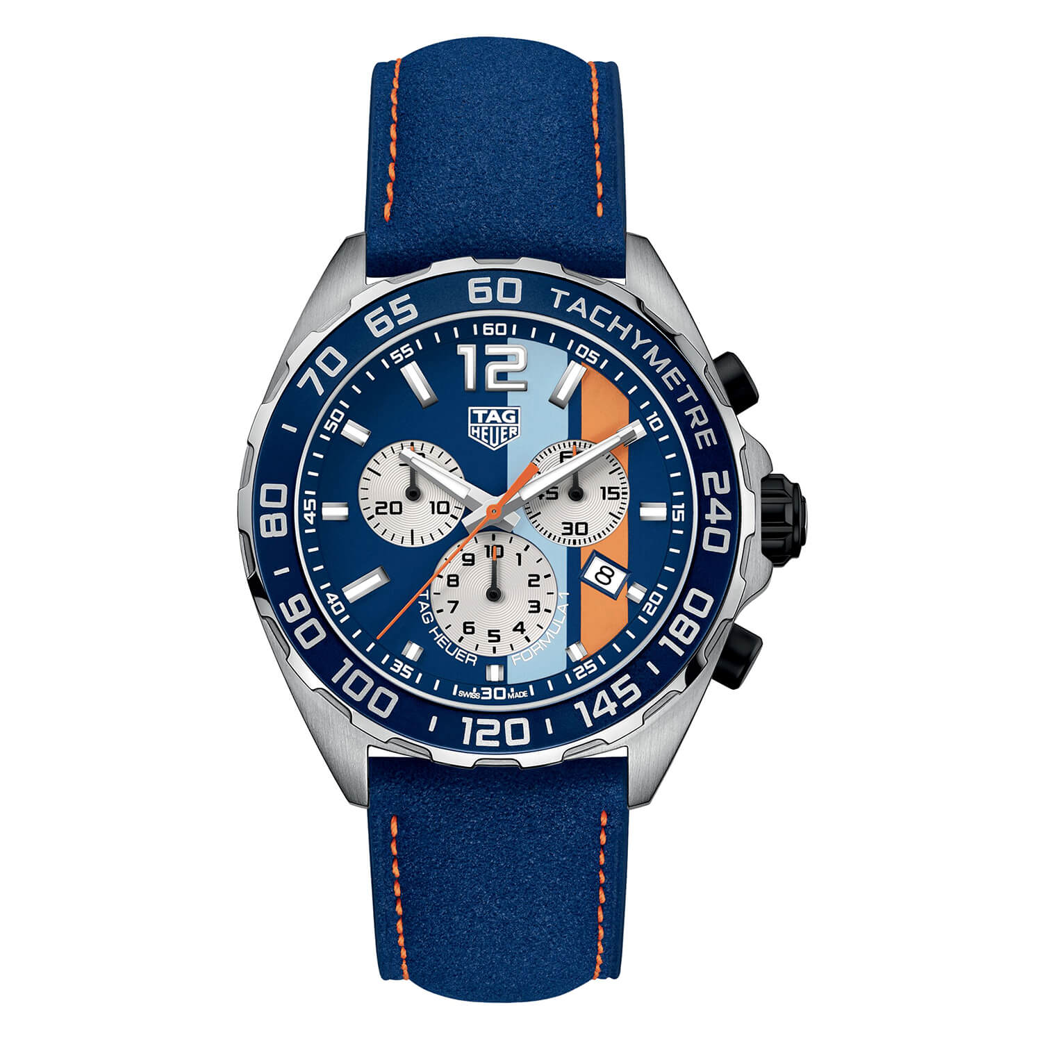TAG Heuer F1 Gulf Chrono 43mm Men's Watch