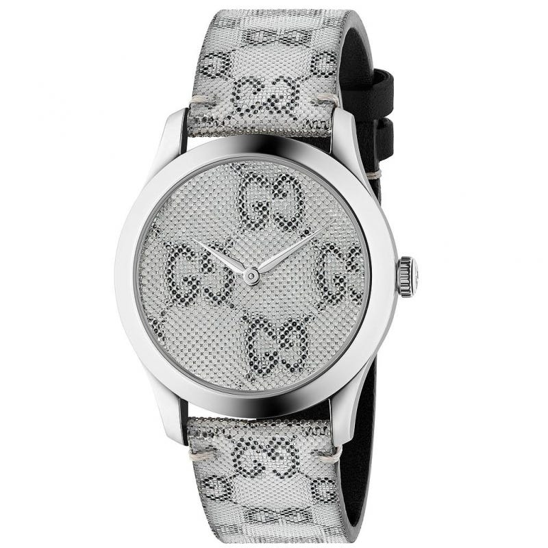 Gucci G-Timeless Grey Hologram 38mm Men's Watch