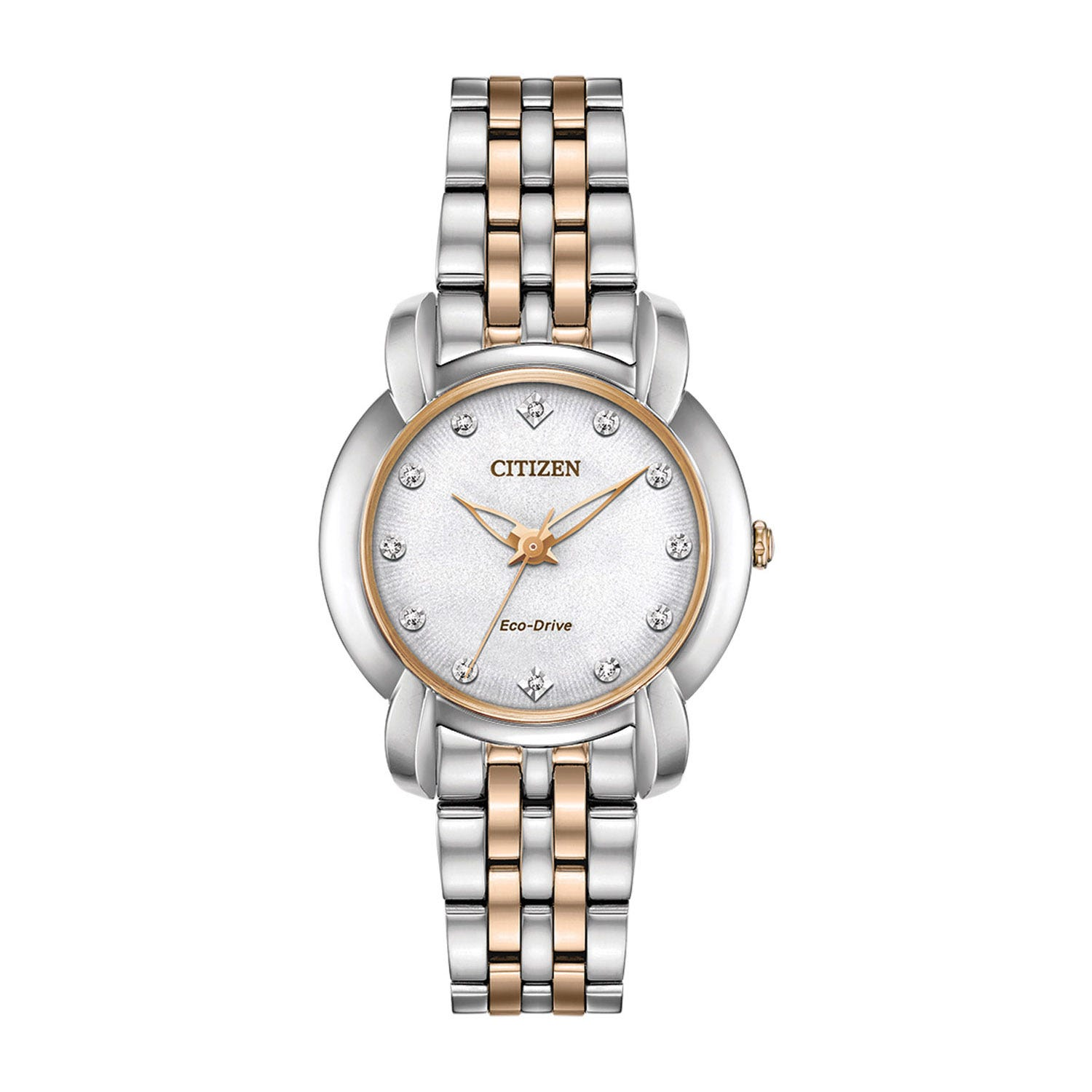 Citizen Eco-Drive Jolie Diamond & Stainless Steel Ladies' Watch