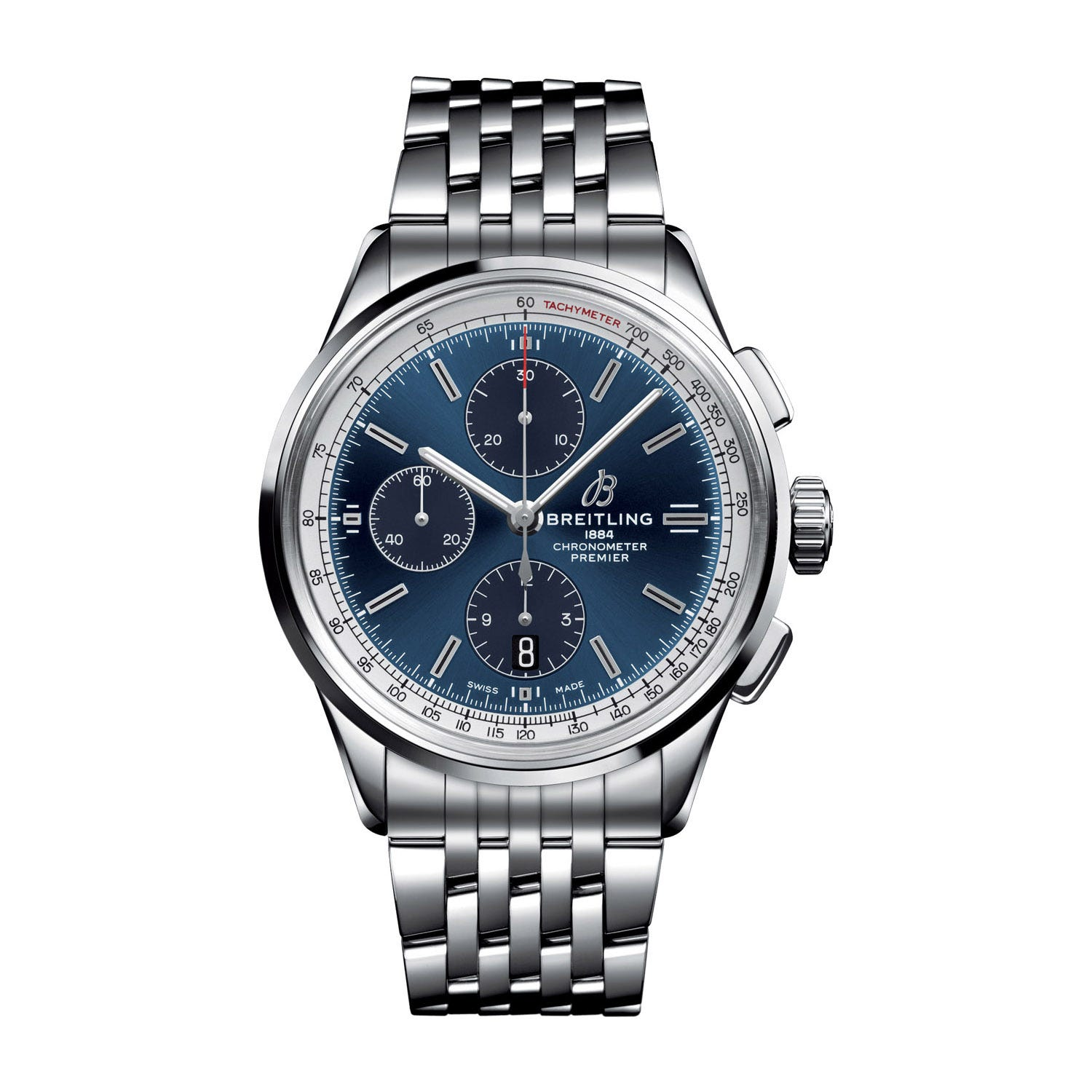 Breitling Premier Chronograph Steel 42mm Men's Watch