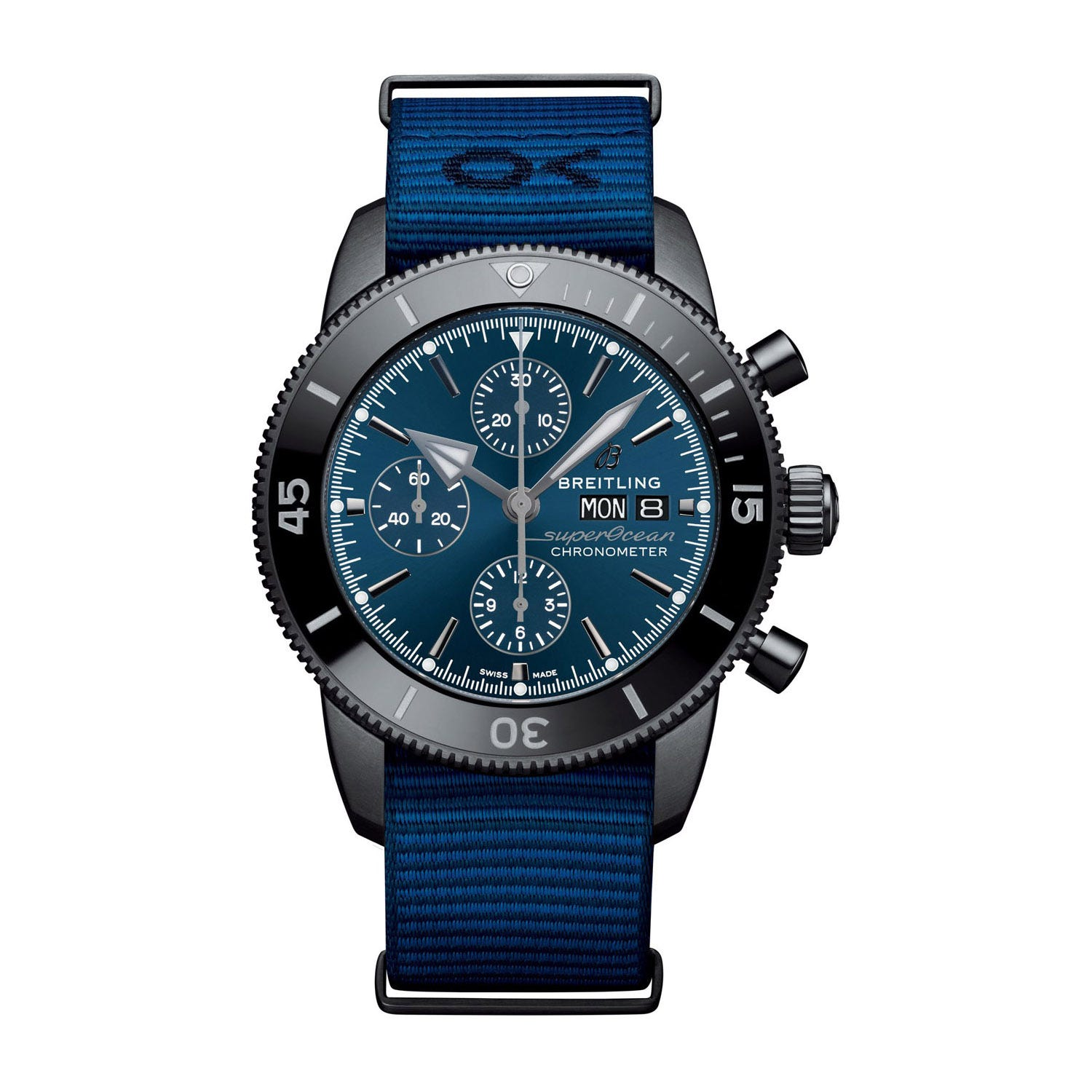 Breitling Superocean Outerknown NATO Strap 44mm Men's Watch