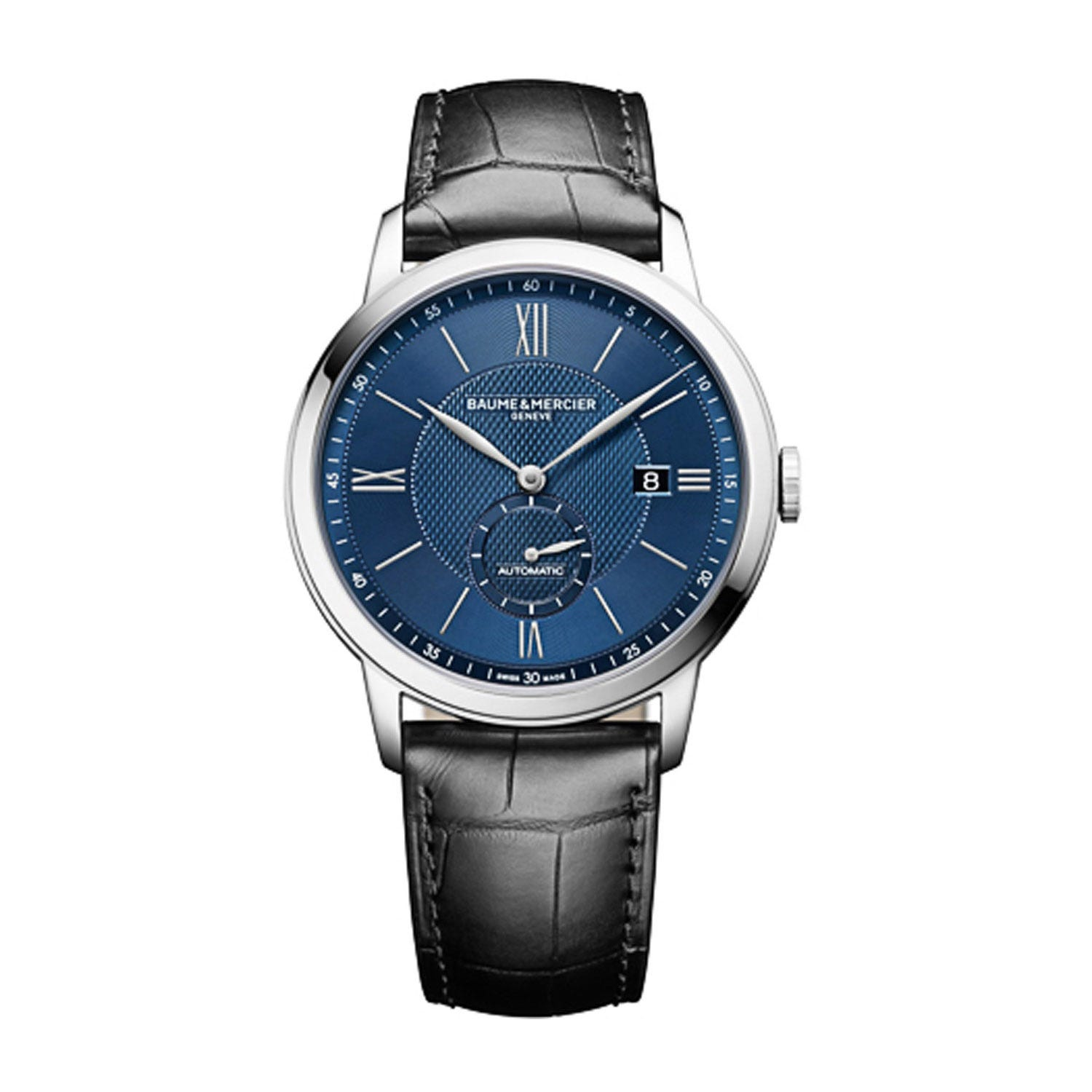 Baume & Mercier Classima Black and Blue 42mm Men's Automatic Watch