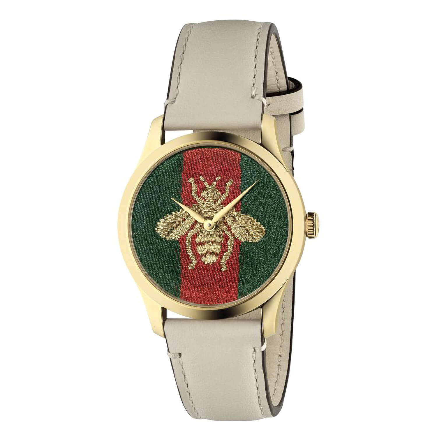 Gucci G-Timeless Contemporary Red Green Dial 38mm Ladies Watch