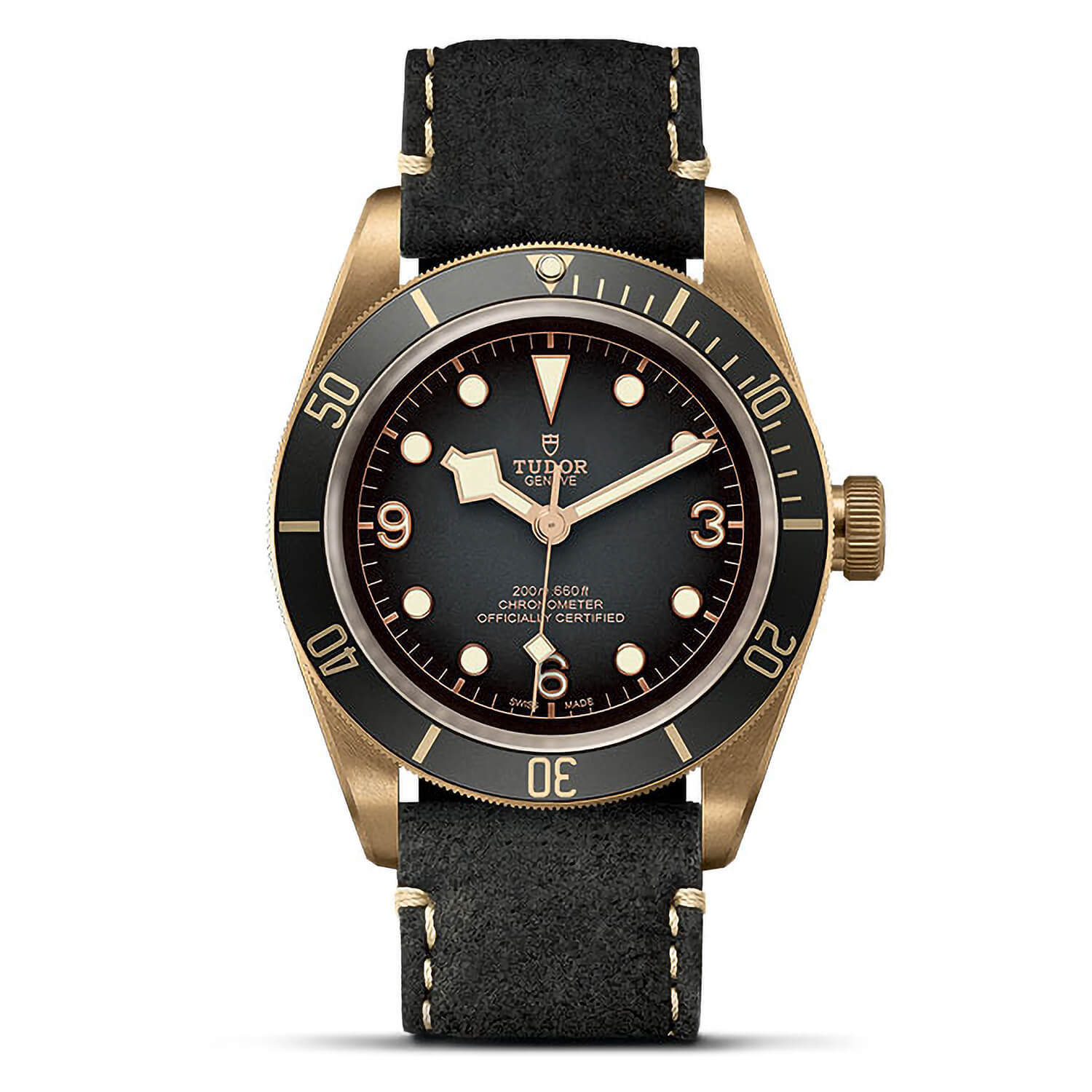Tudor Black Bay Bronze Swiss Dive 43mm Mens Watch