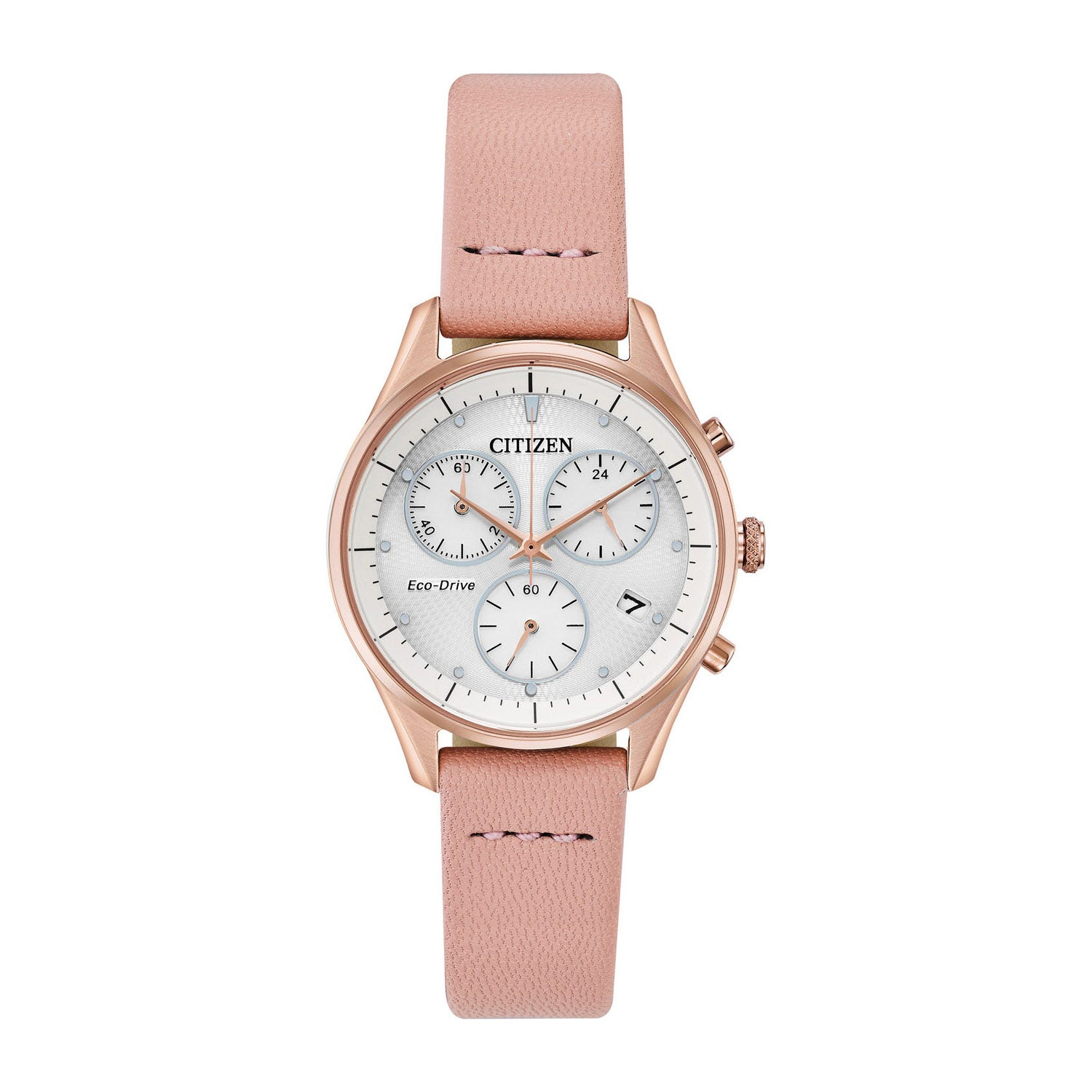Citizen Silhouette Rose Gold Tone & Pink 32mm Ladies' Watch