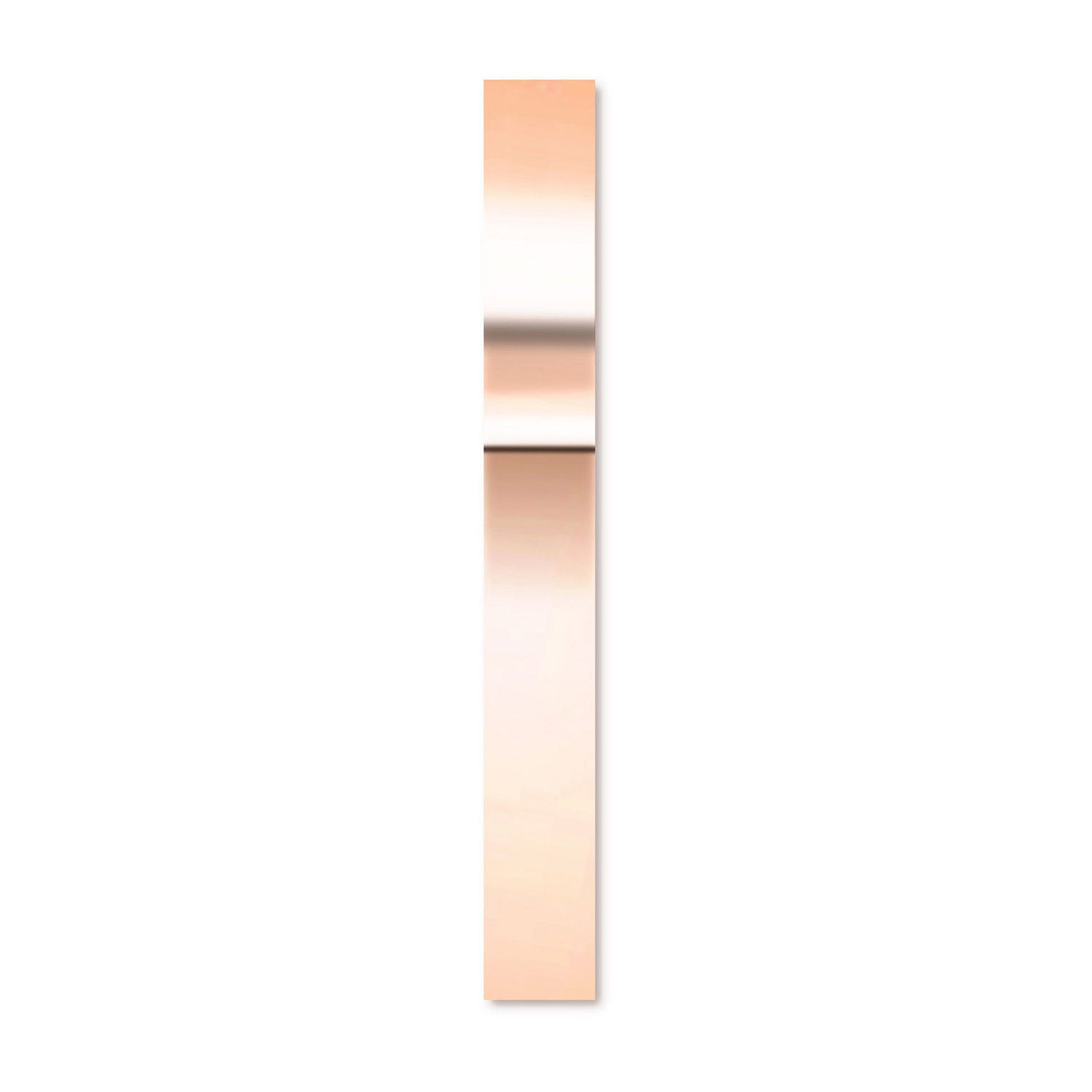 CARAT* London 9ct Rose Gold Liv Hoop Earring