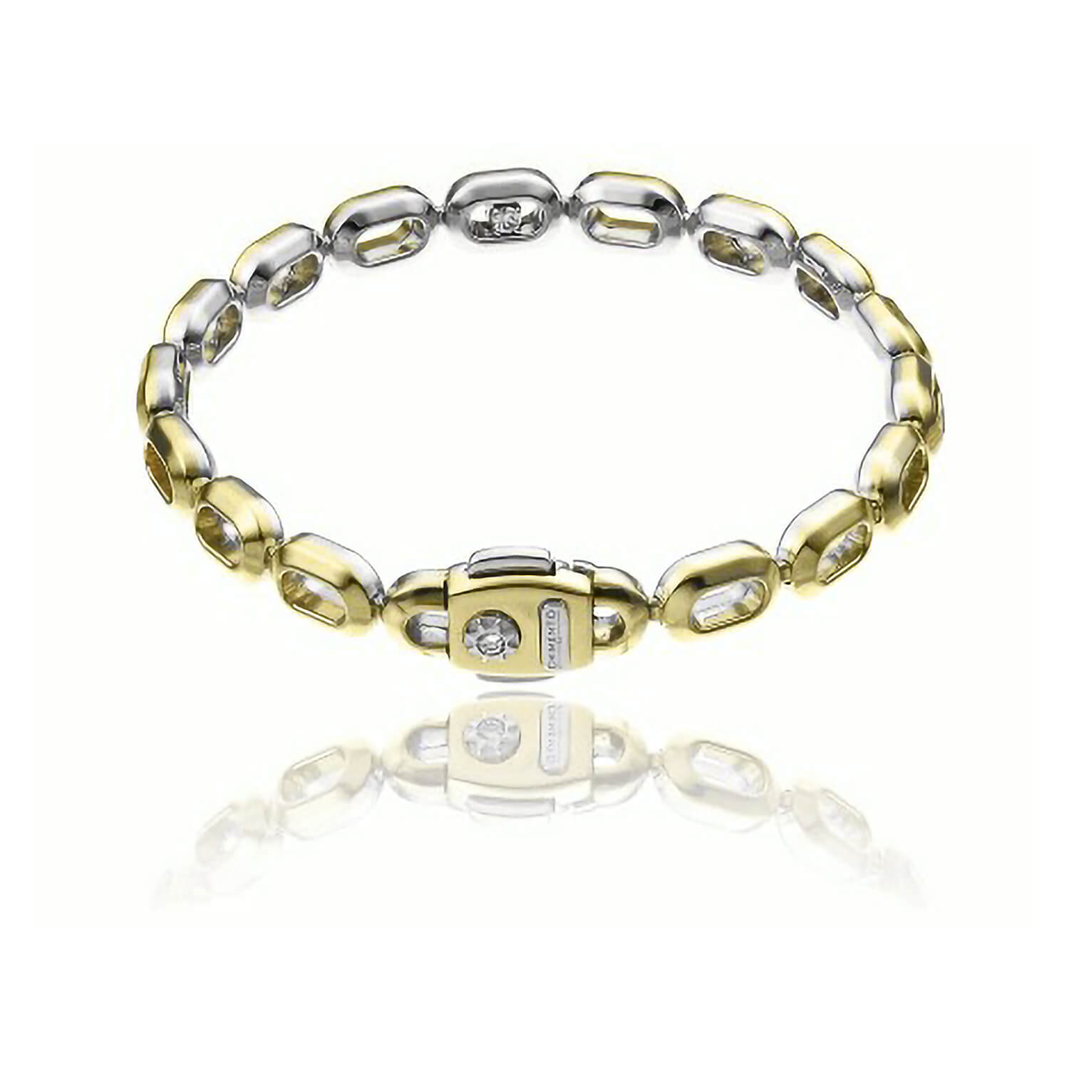 Chimento 18ct Yellow Gold Links Double Optima Bracelet