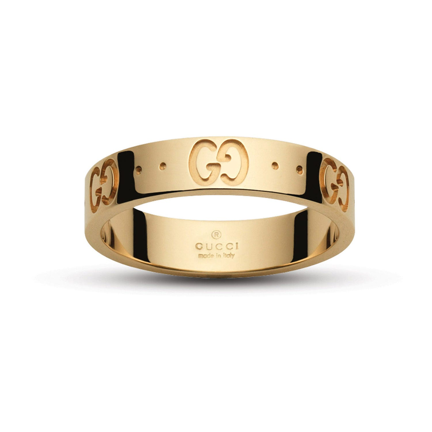Gucci Icon 18ct Yellow Gold Thin Band