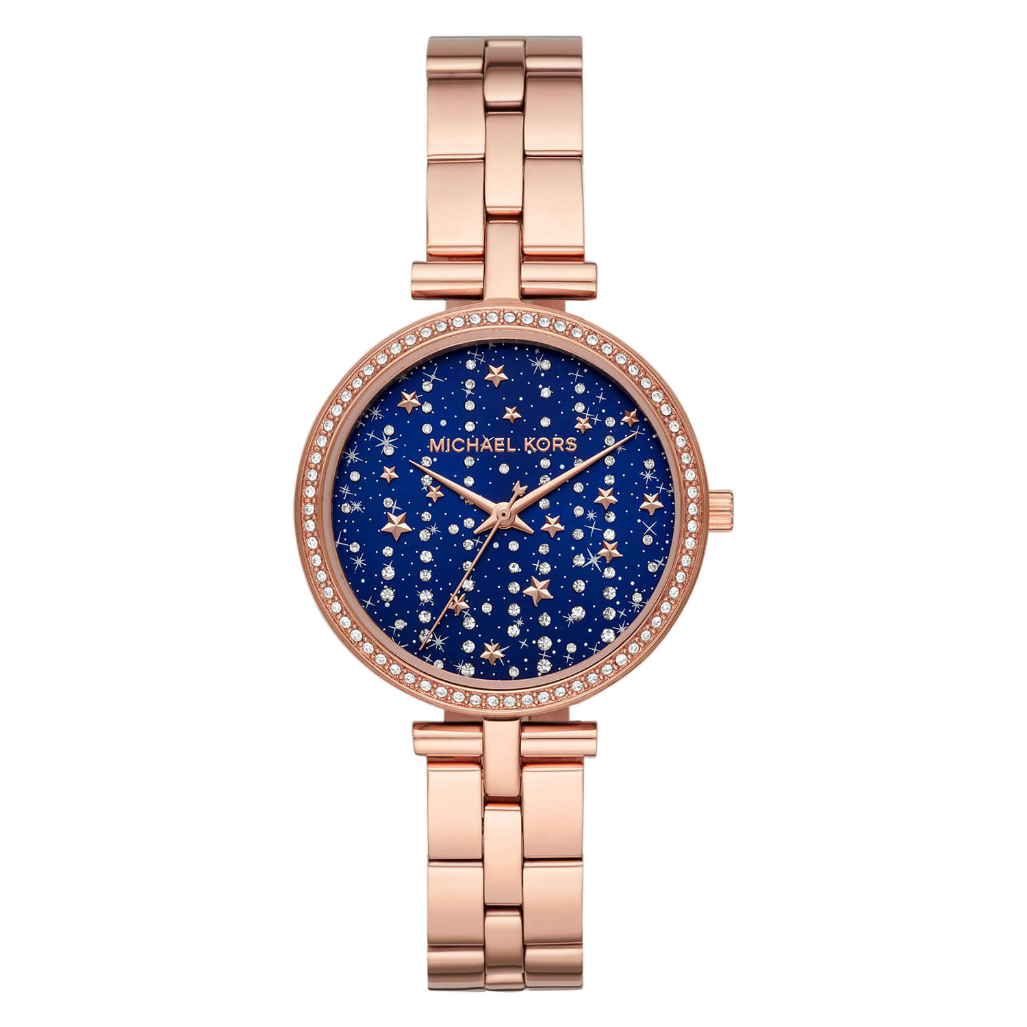 Michael Kors Maci Rose Gold Plated Stainless Steel Ladies Watch