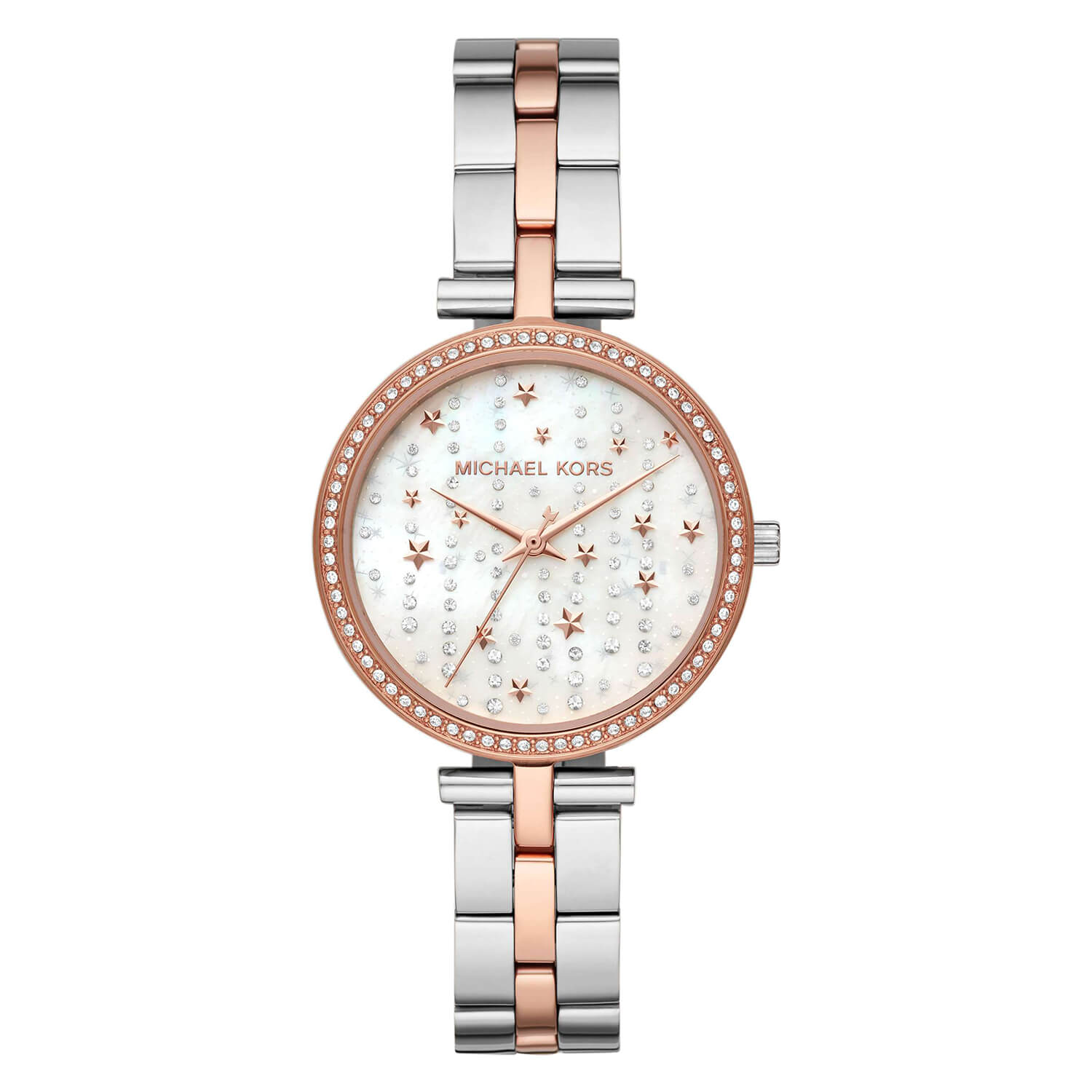 Michael Kors Maci Celestial Two Tone Ladies Bracelet Watch