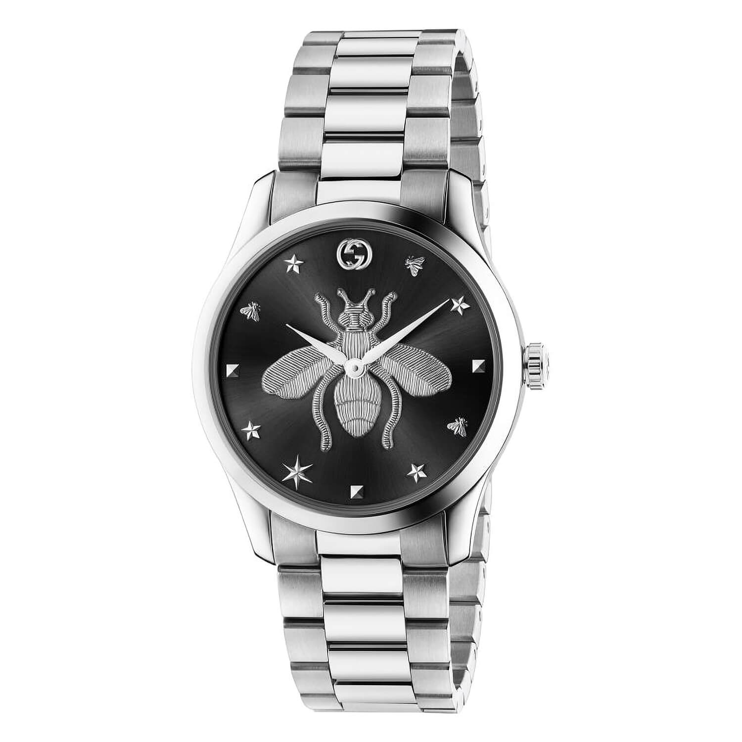 Gucci G-Timeless Black Dial 38mm Unisex Watch