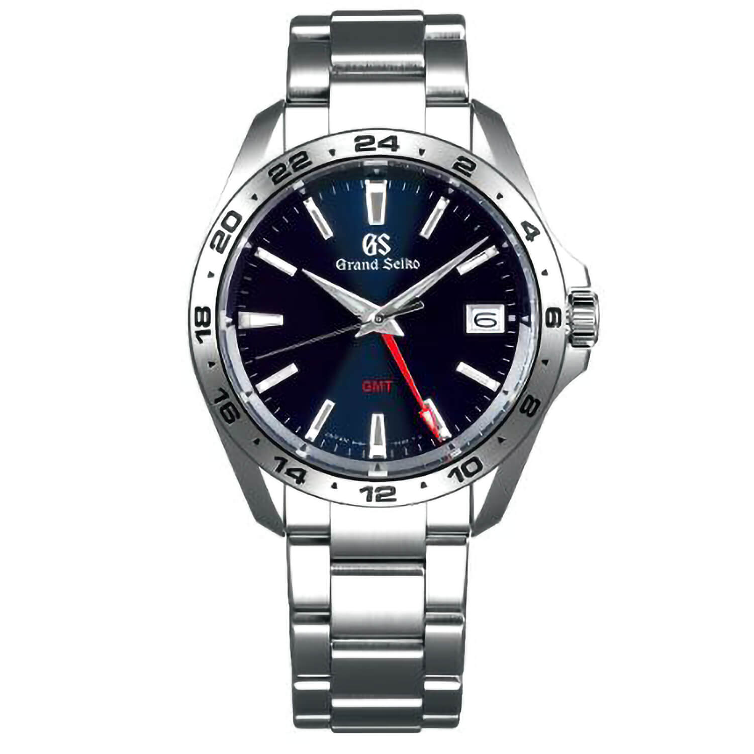 Grand Seiko Sports Quartz Blue Dial Stainless Steel Watch
