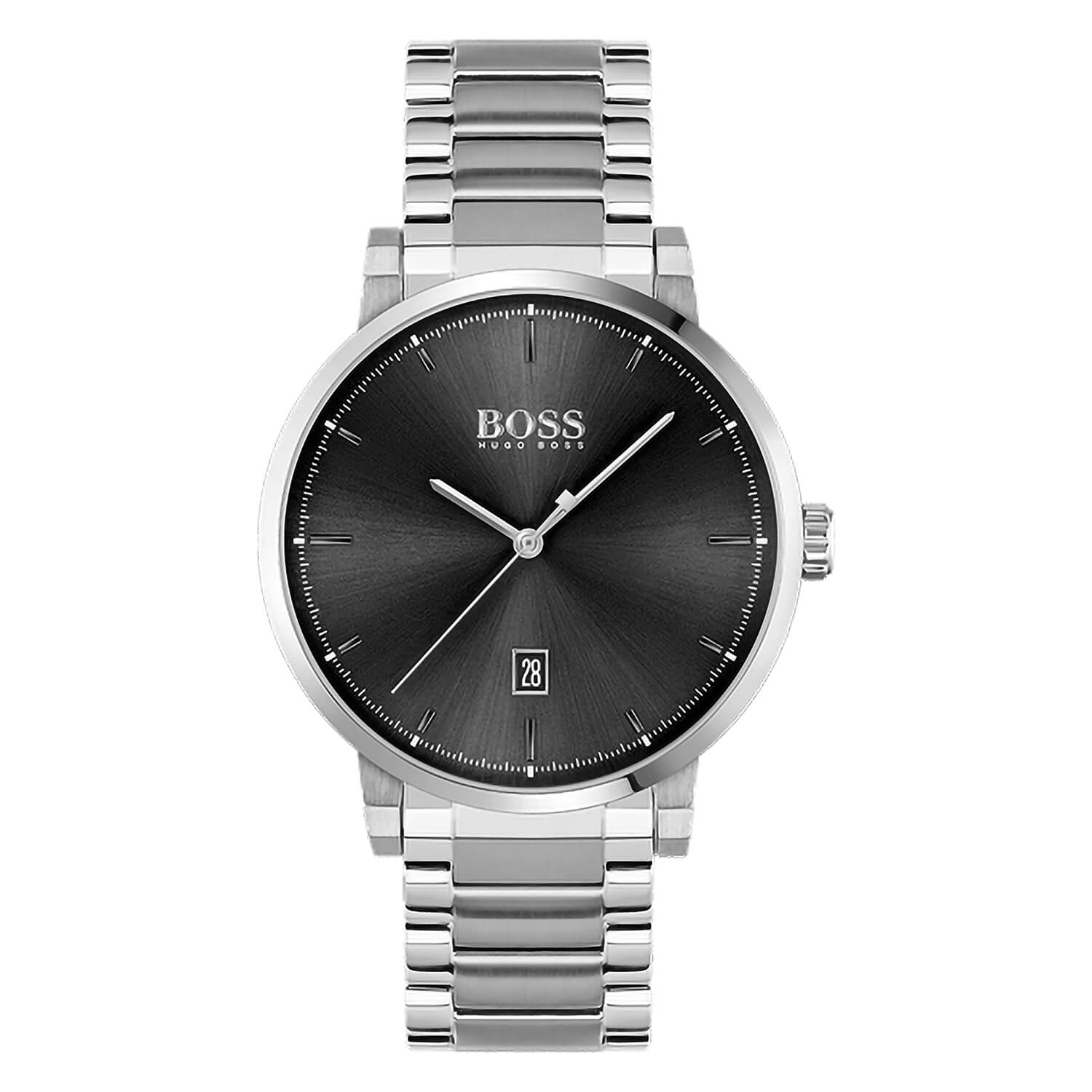Hugo Boss Confidence Black Dial 44mm Mens Watch
