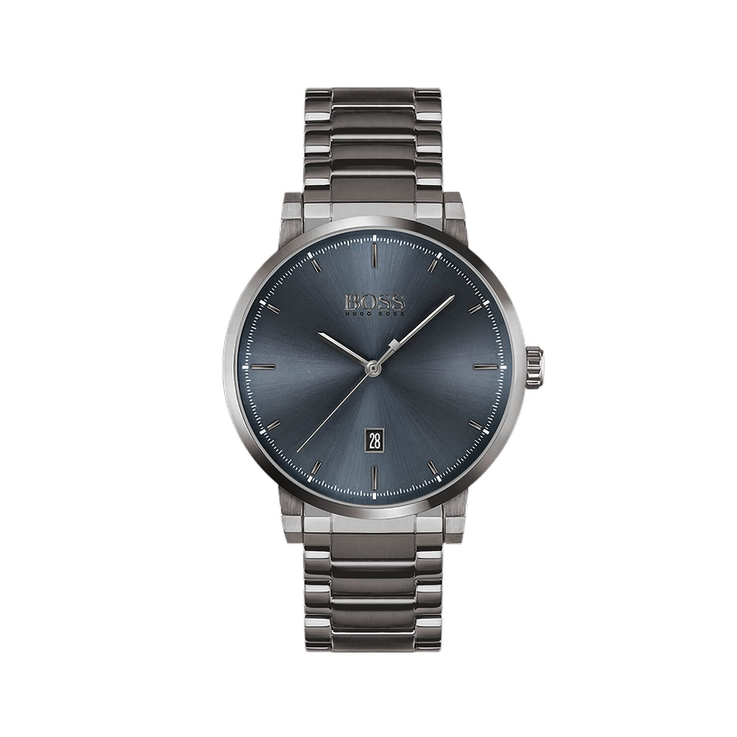Hugo Boss Confidence Blue Dial 44mm Mens Watch