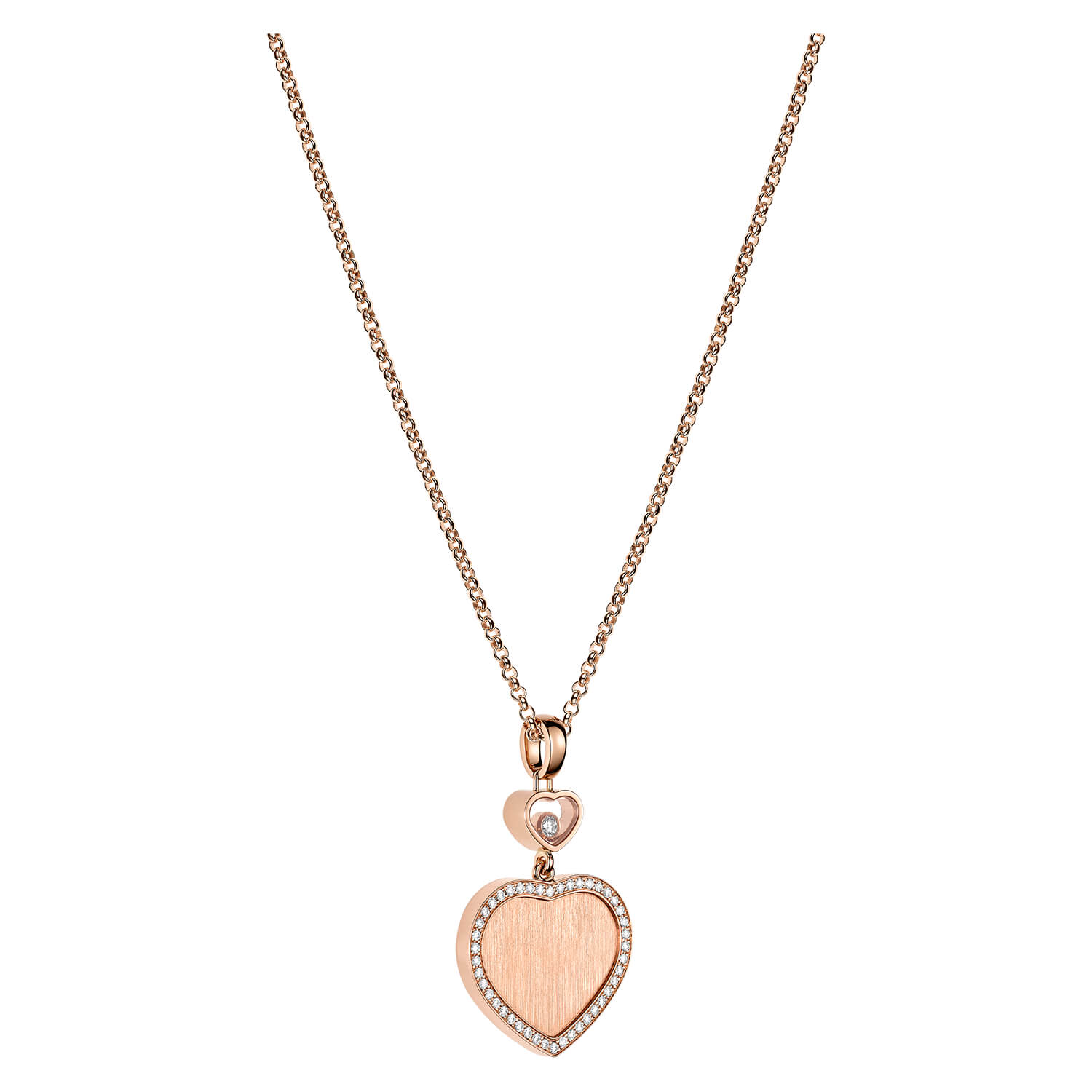 Chopard Limited Edition James Bond 007 Happy Hearts Diamond Pendant