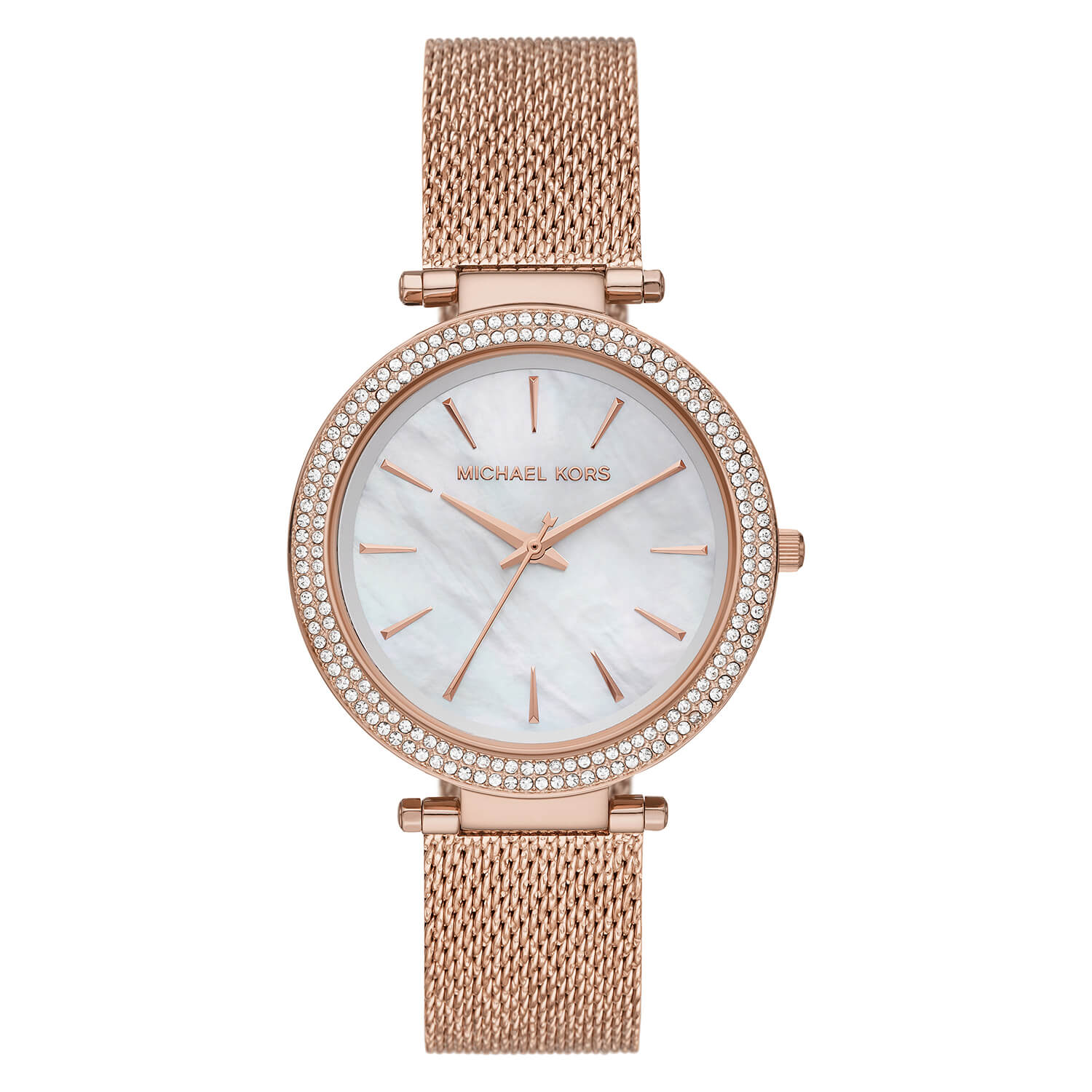 Michael Kors Darci Ladies Quartz Yellow Gold Plated Case Watch