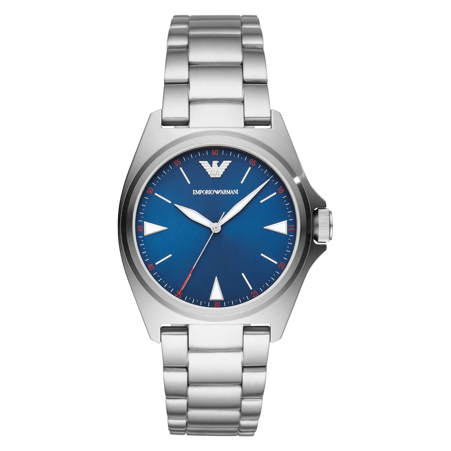 Emporio Armani Nicola Mens Quartz Stainless Steel Watch