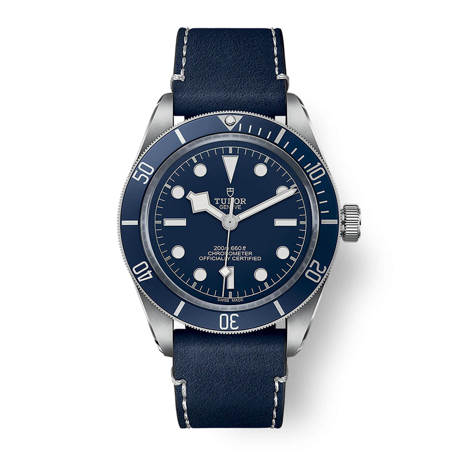 Tudor Black Bay Fifty-Eight Navy Blue 39mm Blue Dial Blue Bezel Steel Case Blue Strap Watch