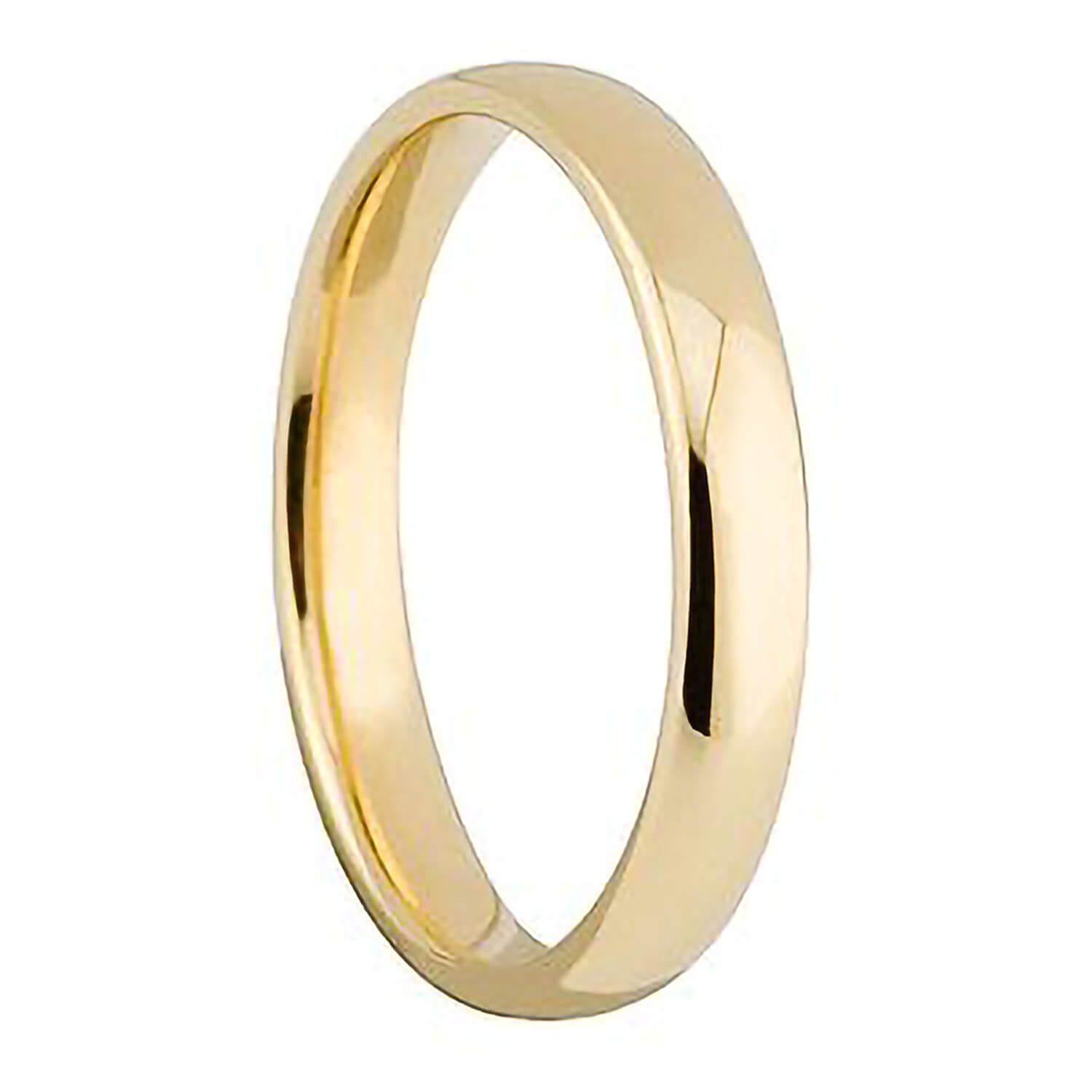 Ladies' 18ct gold 2.5mm superior court wedding ring