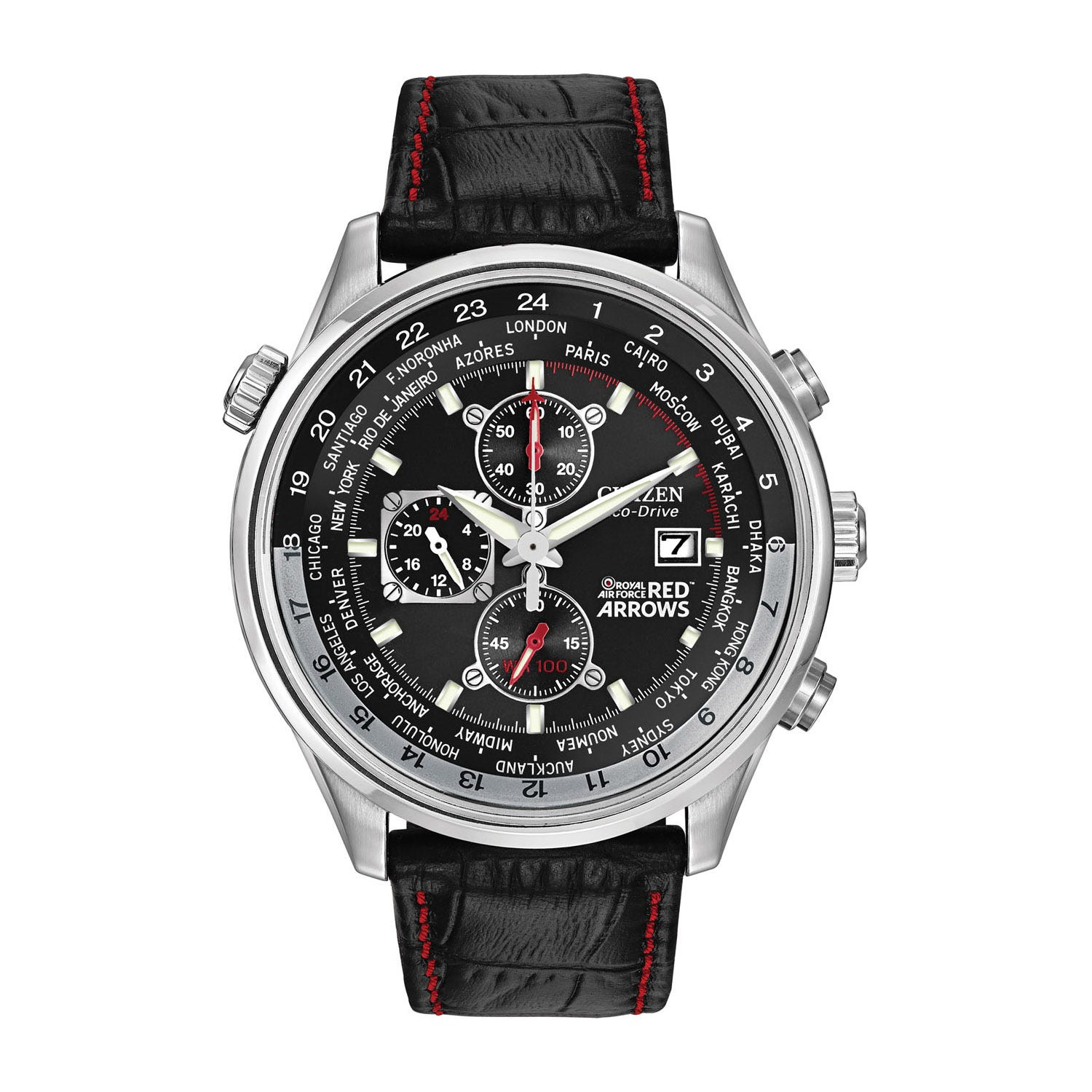Citizen Eco-Drive Red Arrows men's stainless steel bracelet watch