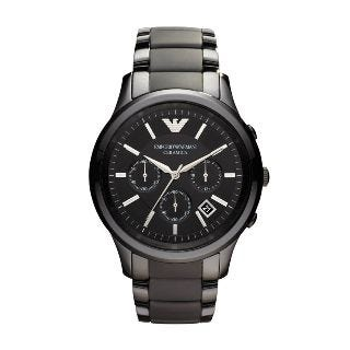 Emporio Armani Ceramica men's chronograph watch