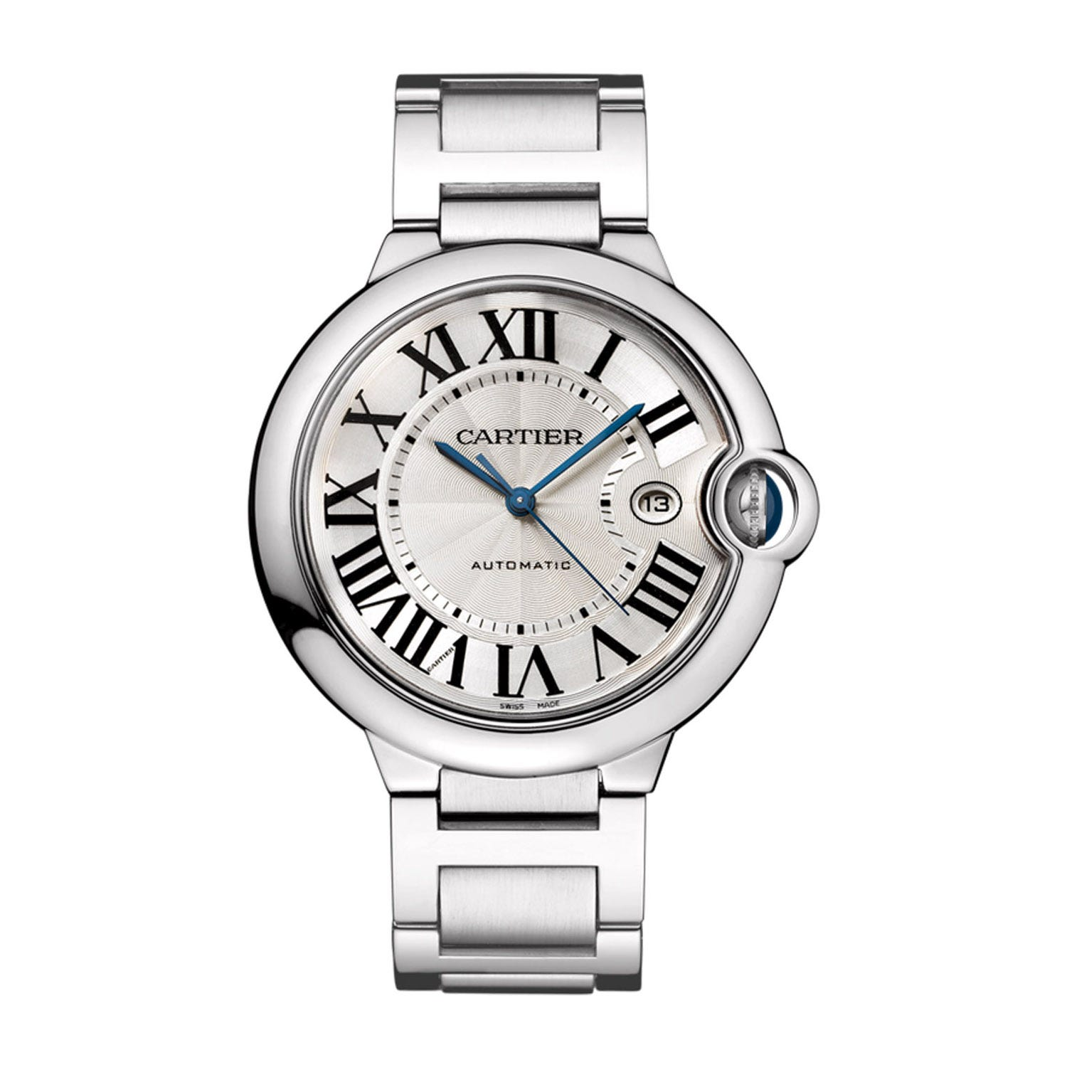 Cartier Ballon Bleu De Cartier Men's Automatic Large Stainless Steel Watch