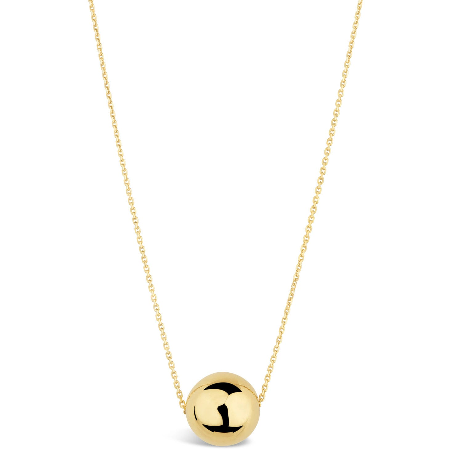 9ct Yellow Gold Ball Pendant (Special Order)