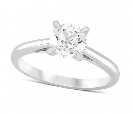 The Amia Diamond Solitaire Rings
