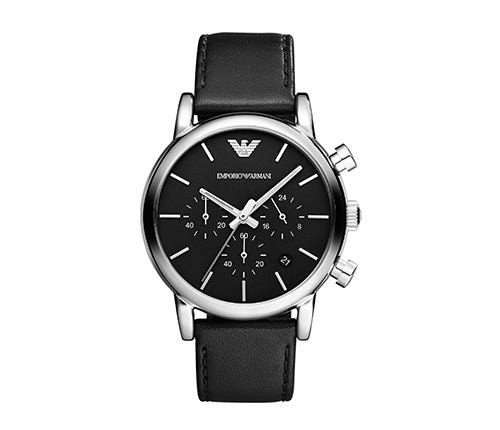 Shop The Emporio Armani Leather Strap Watches